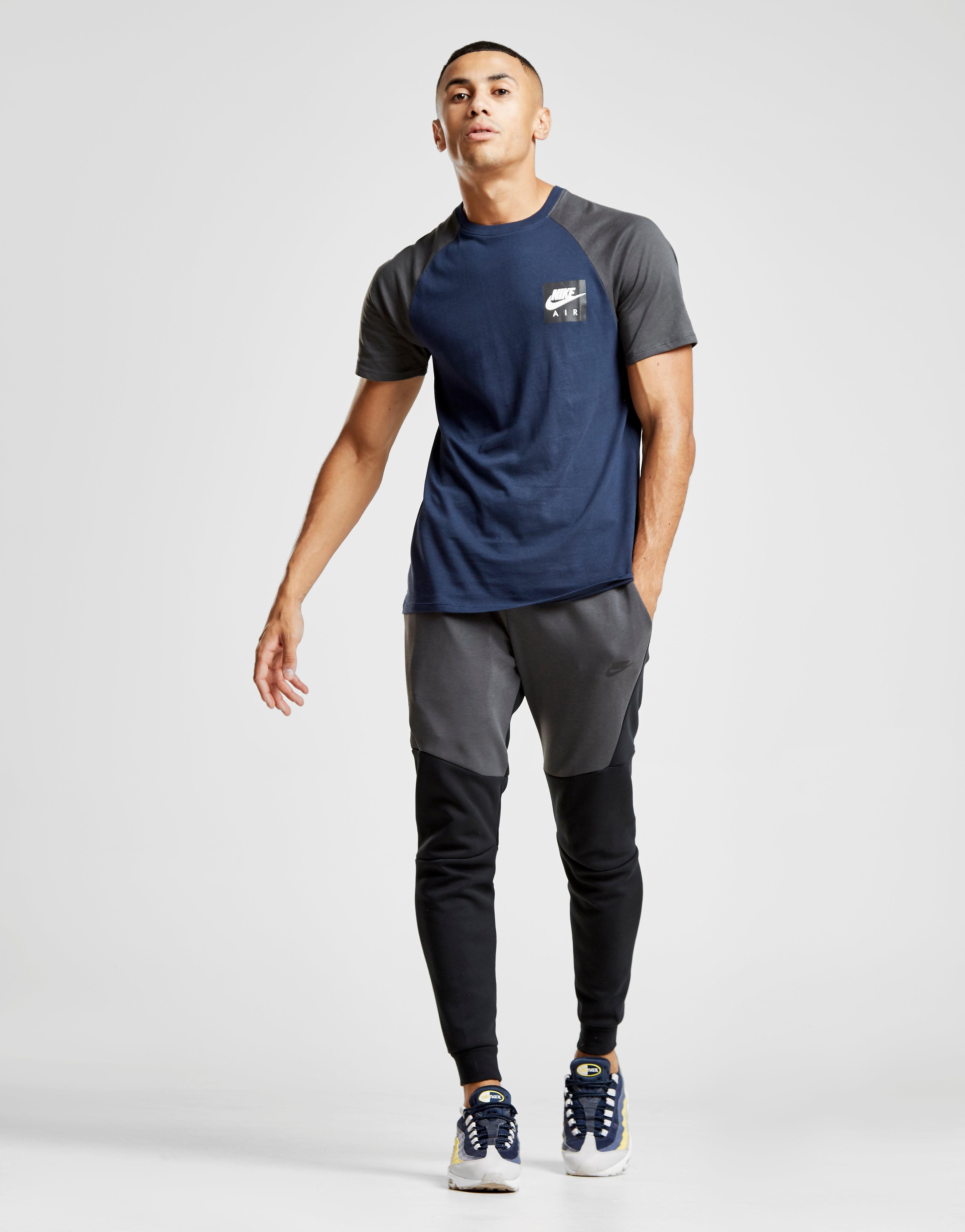Nike Tech Fleece Colour Block Track Pants Heren - Zwart - Heren