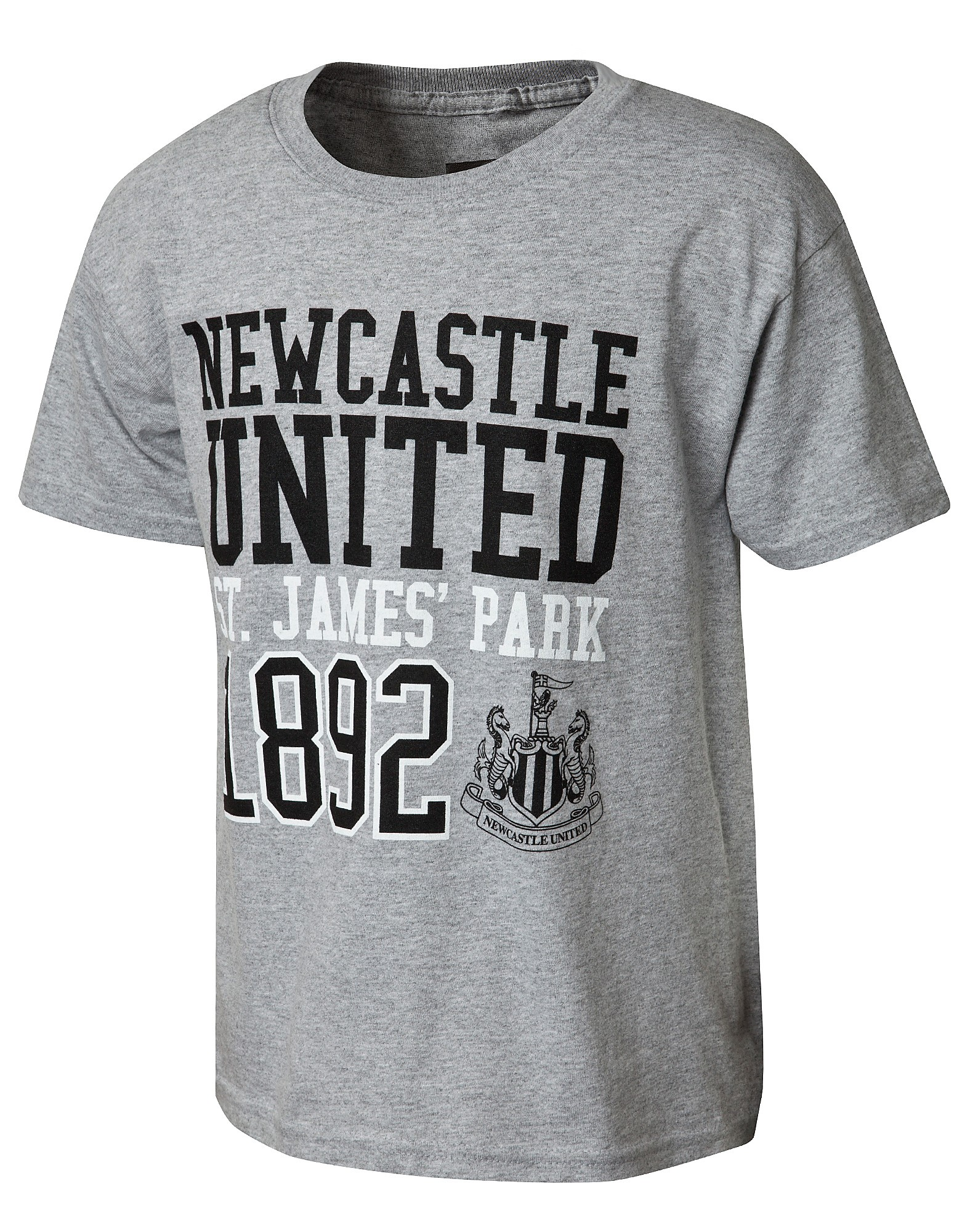 Official Team Newcastle United Block T-Shirt