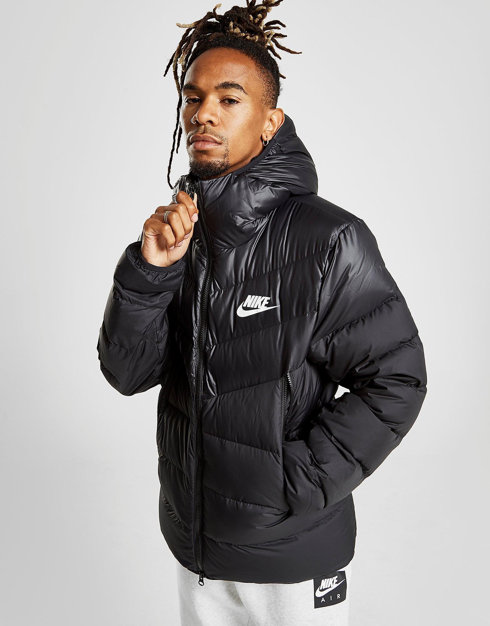 Nike Downfill Bubble Jacket Heren - Zwart - Heren