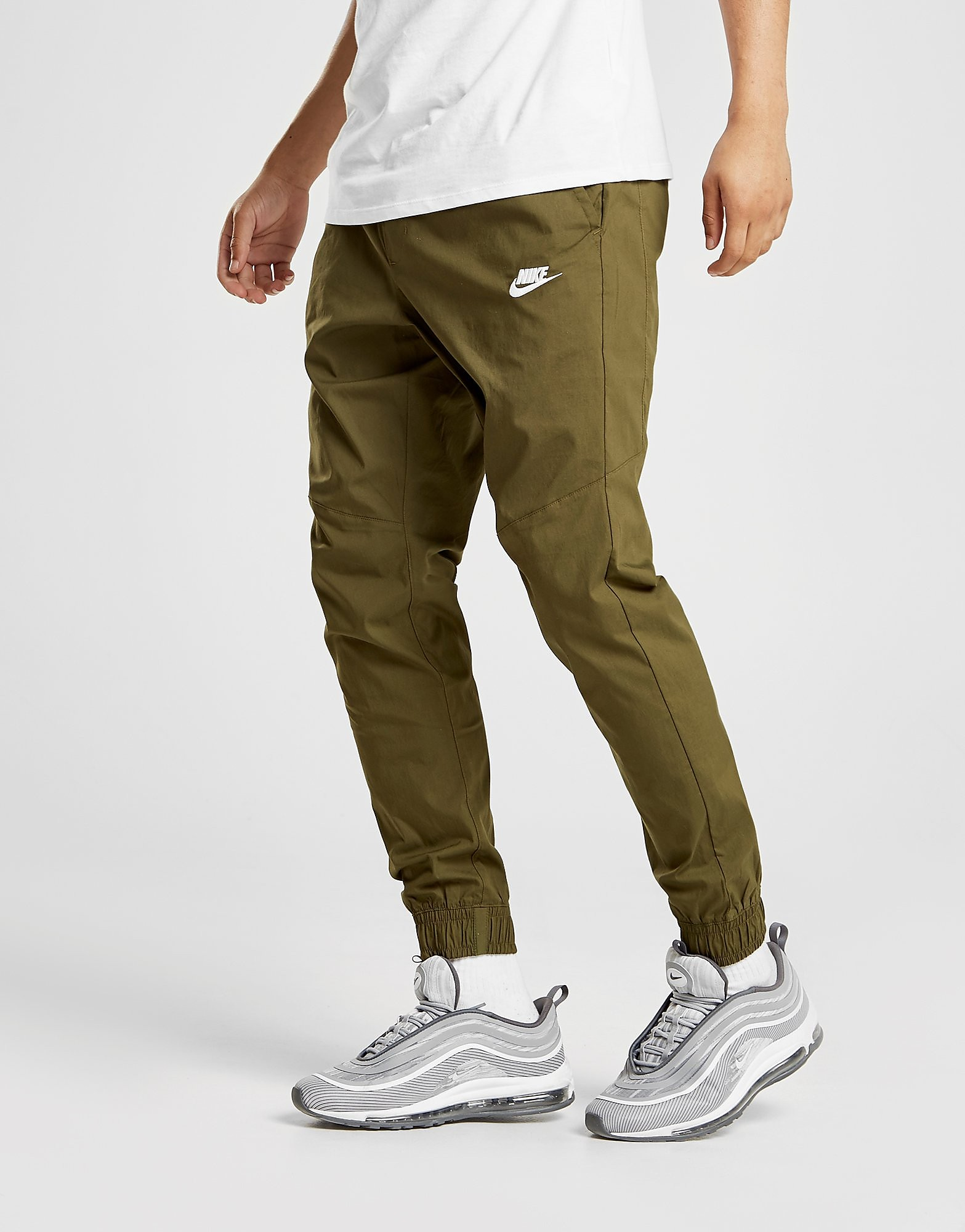Nike Twill Track Pants Heren - Olive/Olive - Heren
