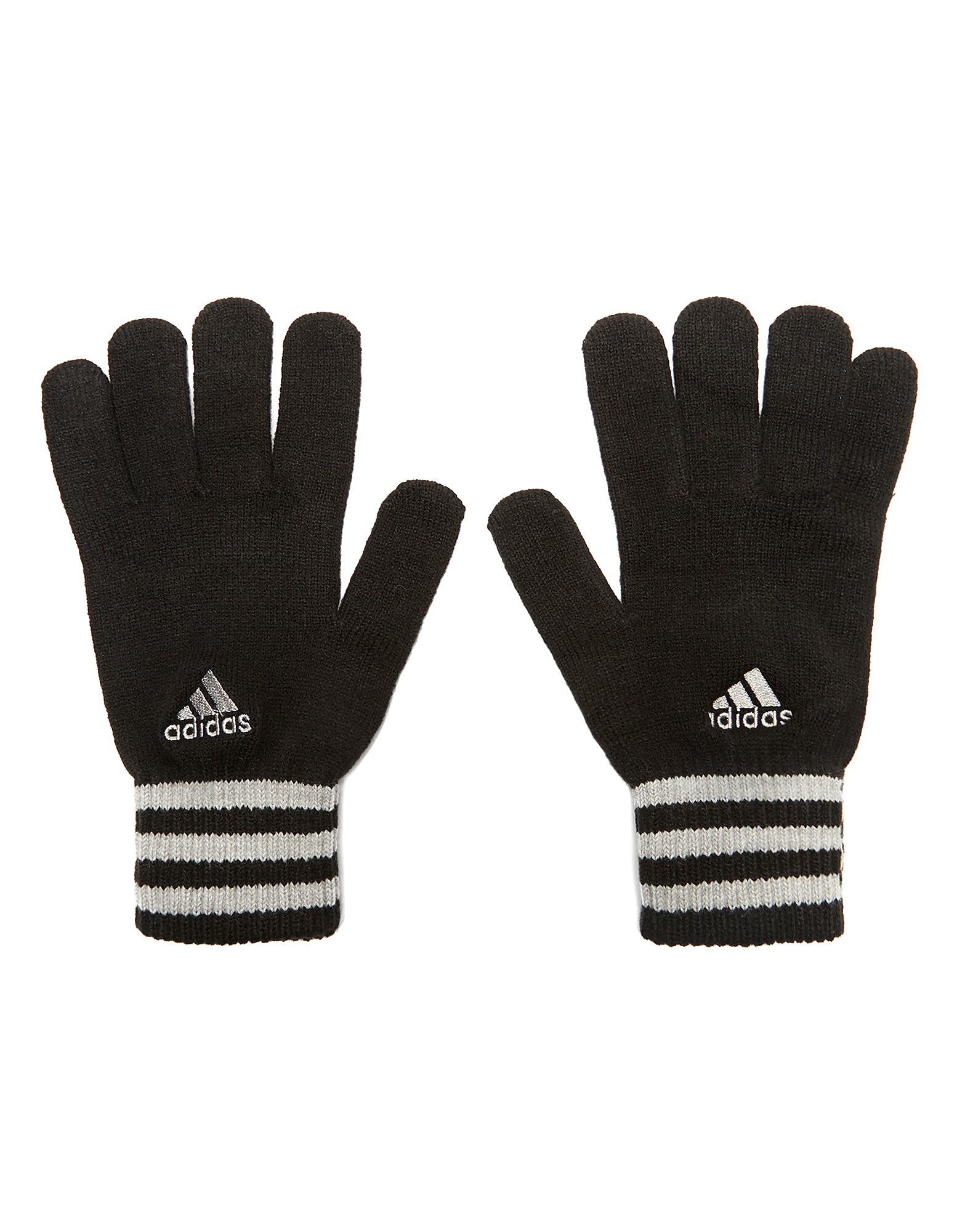 adidas Essential 3 Stripe Gloves