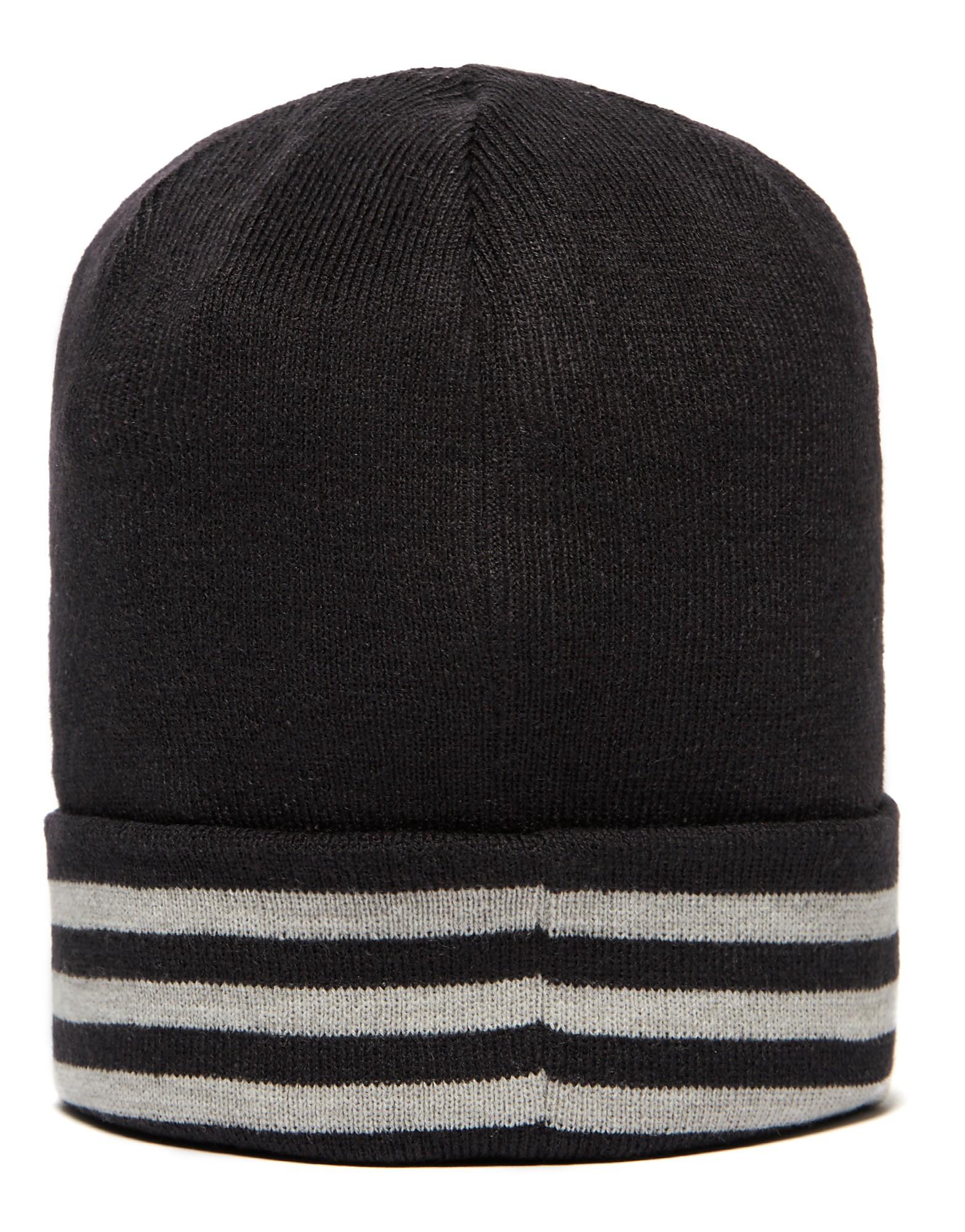 adidas Essential 3 Stripe Beanie Hat