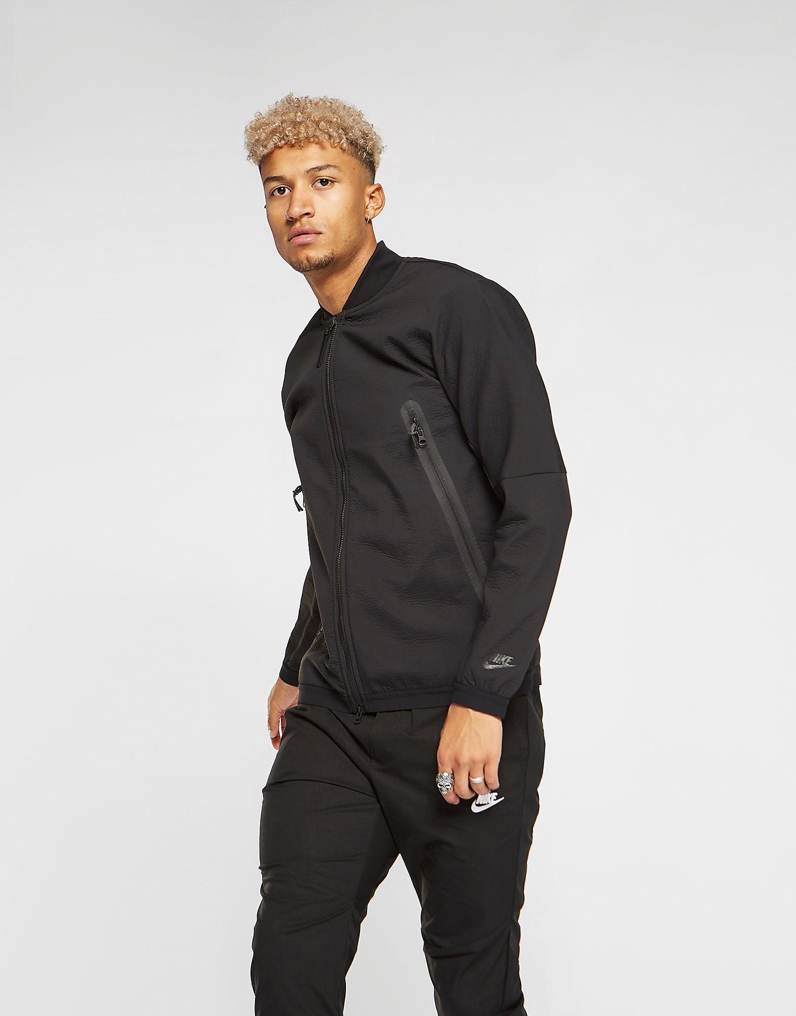 Nike Tech Woven Jacket Heren - Zwart - Heren