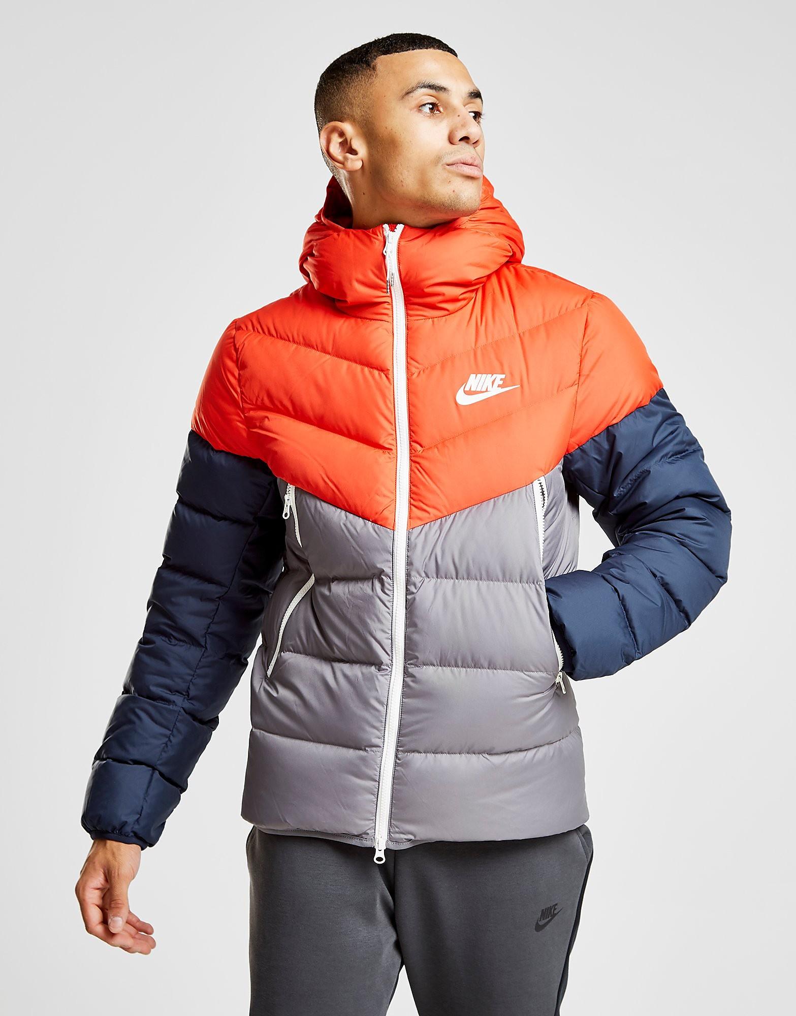Nike Windrunner Bubble Jacket - Rot - Mens, Rot