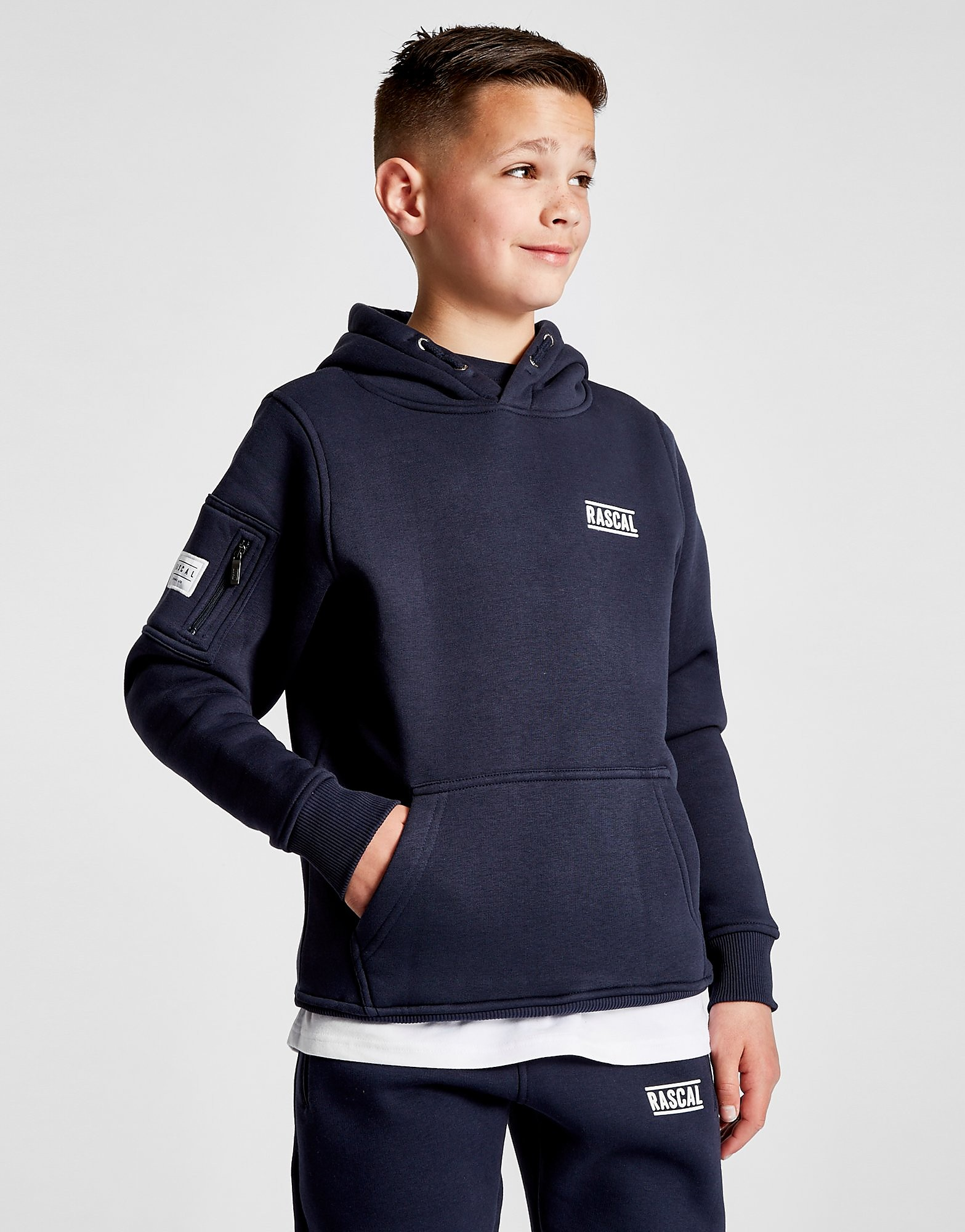 Rascal Essential Fleece Overhead Hoodie Junior