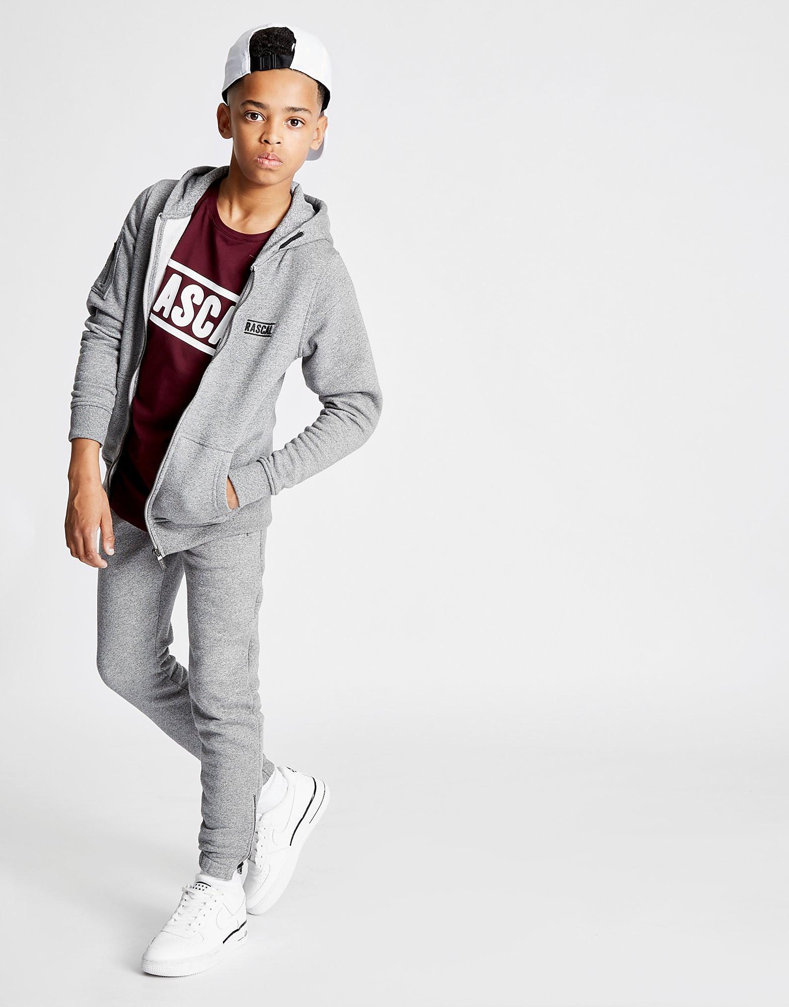 Rascal Essential Full Zip Hoodie Junior