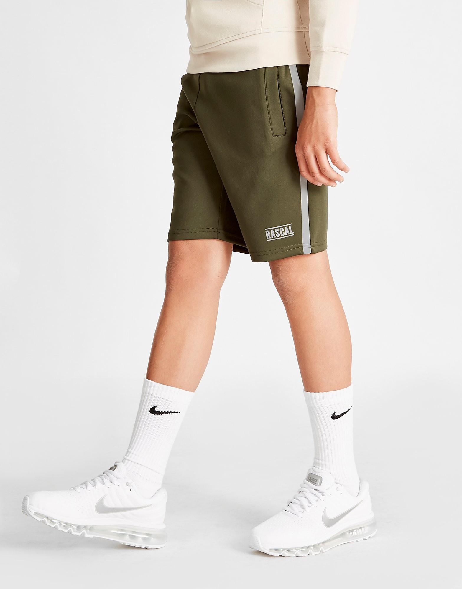 Rascal Mission Poly Shorts Junior - Khaki/Silver - Kind