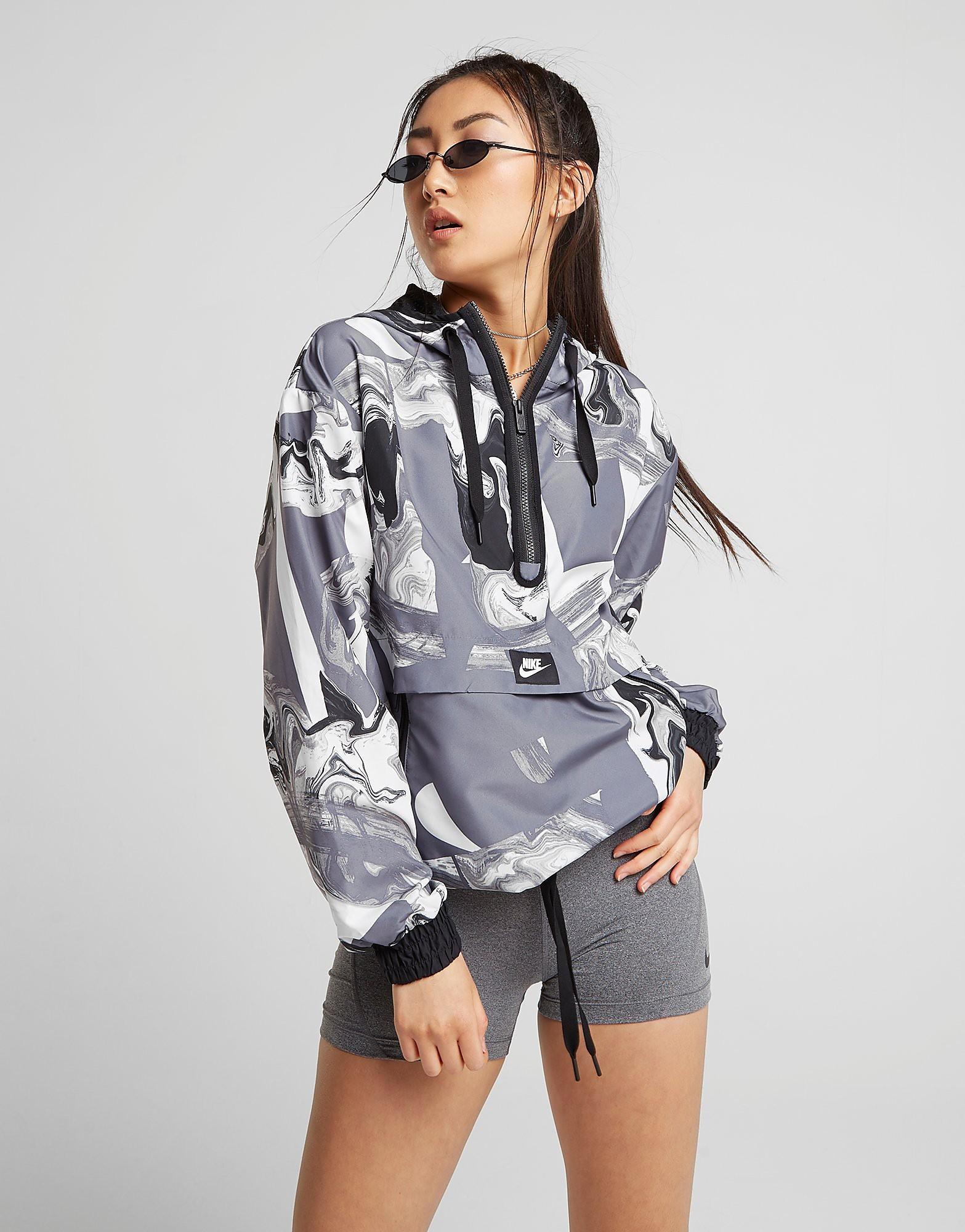 Nike Marble All Over Print Overhead Jacket