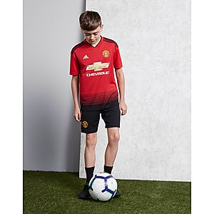 ... adidas Manchester United FC 2018 19 Home Shirt Junior c25dac220