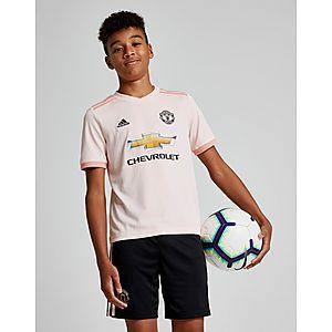 4a989375b37 adidas Manchester United FC 2018 19 Away Shirt Junior ...