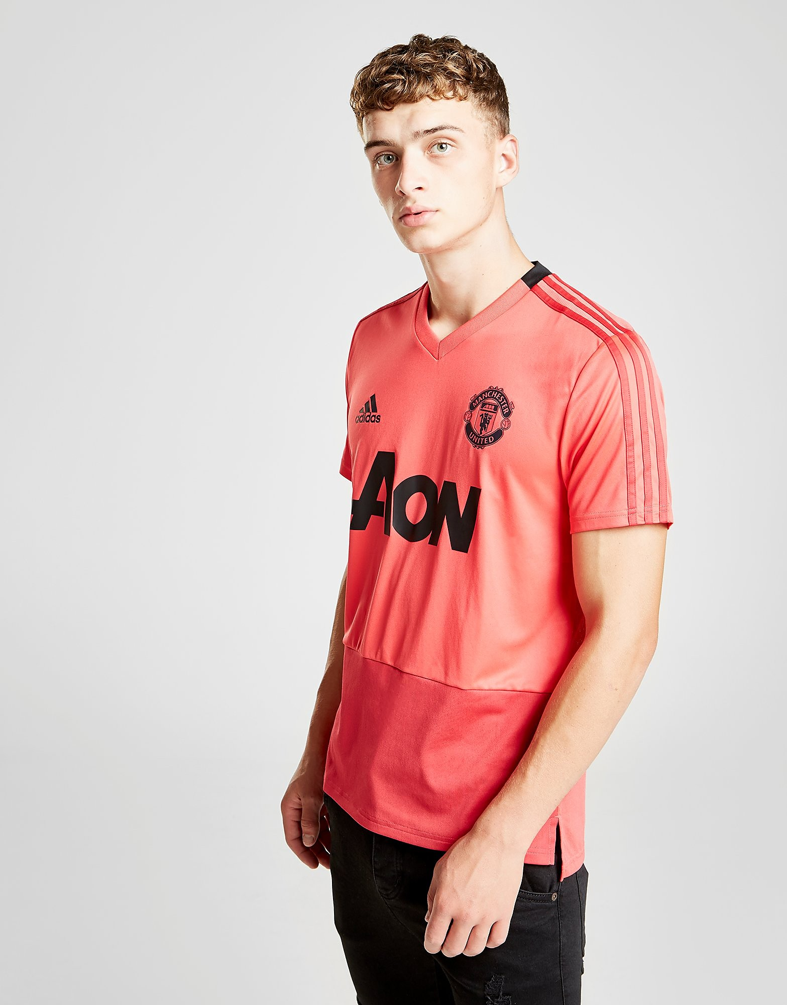adidas Manchester United FC Training Shirt - Roze - Heren