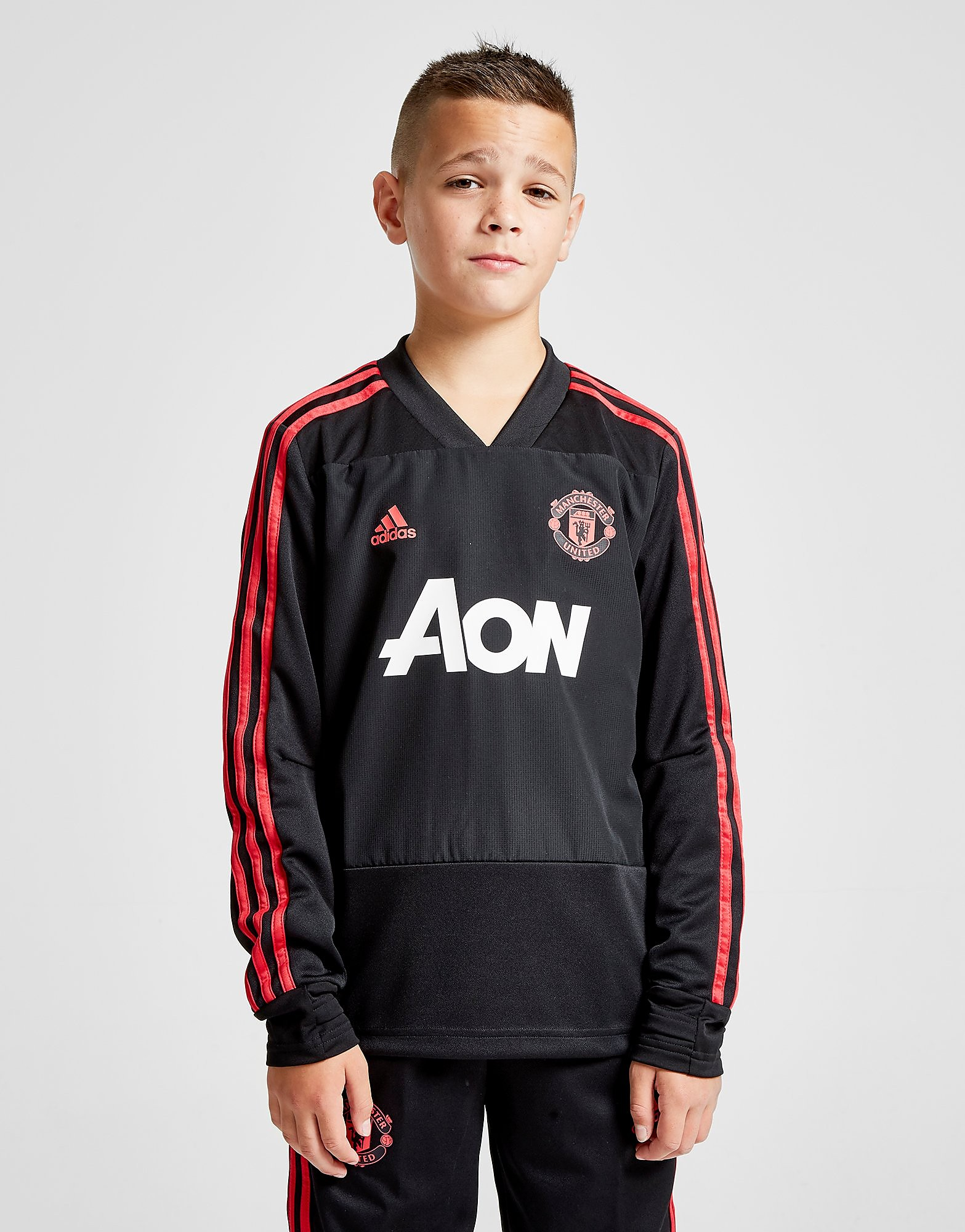 adidas Manchester United FC Training Top Junior - Zwart - Kind