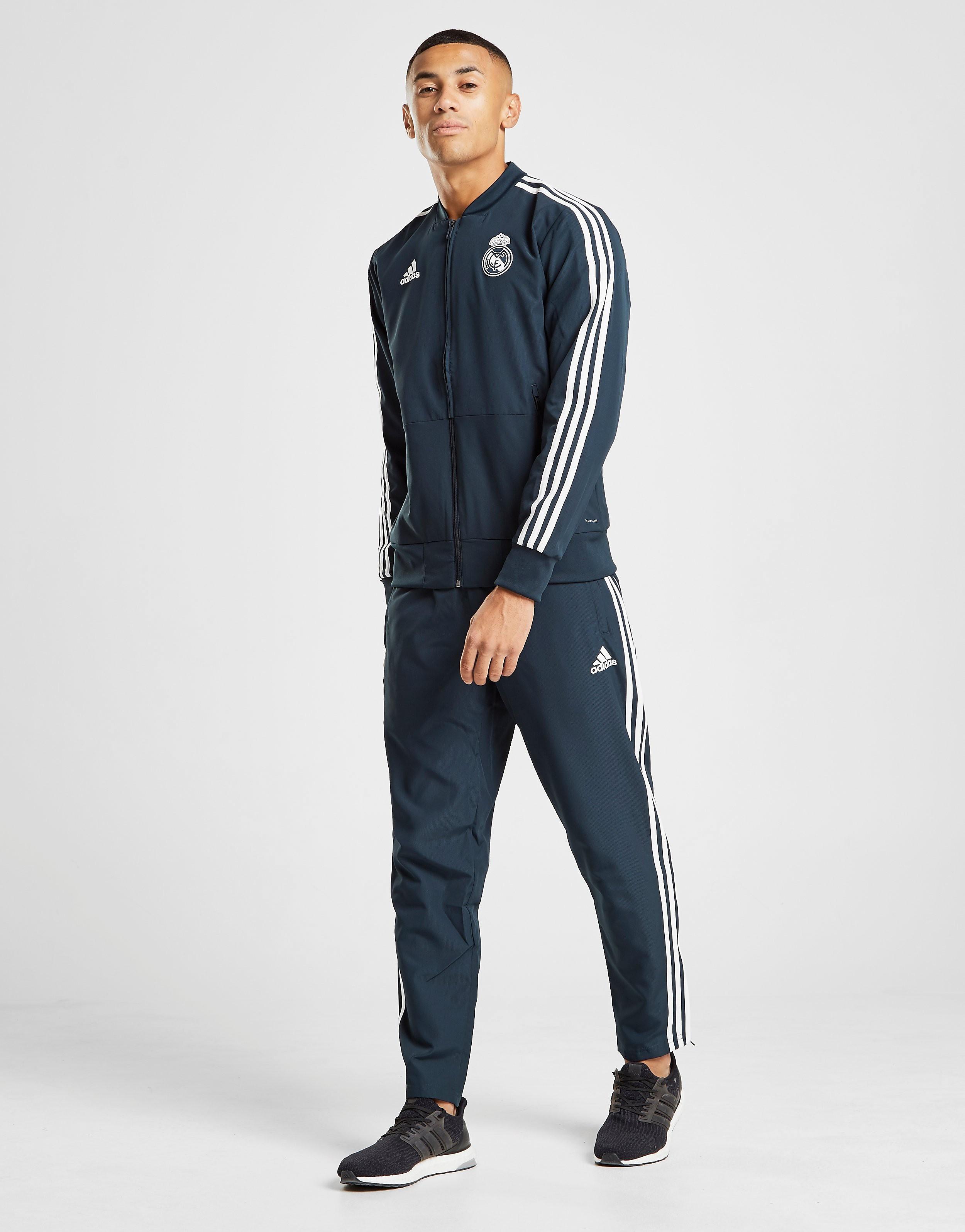 adidas Real Madrid Presentation Track Pants Heren - Blauw - Heren