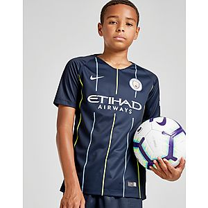 e494be54bce Nike Manchester City FC 2018 19 Away Shirt Junior ...