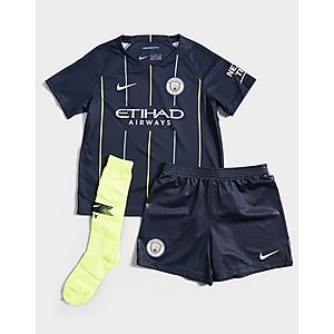 6f6855a792e NIKE 2018 19 Manchester City FC Stadium Away Younger Kids  Football Kit ...