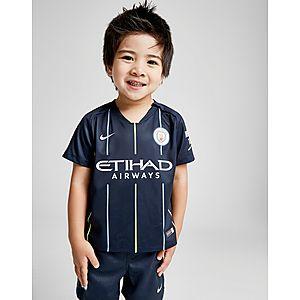 ... Nike Manchester City FC 2018 19 Away Kit Infant d53db50a4