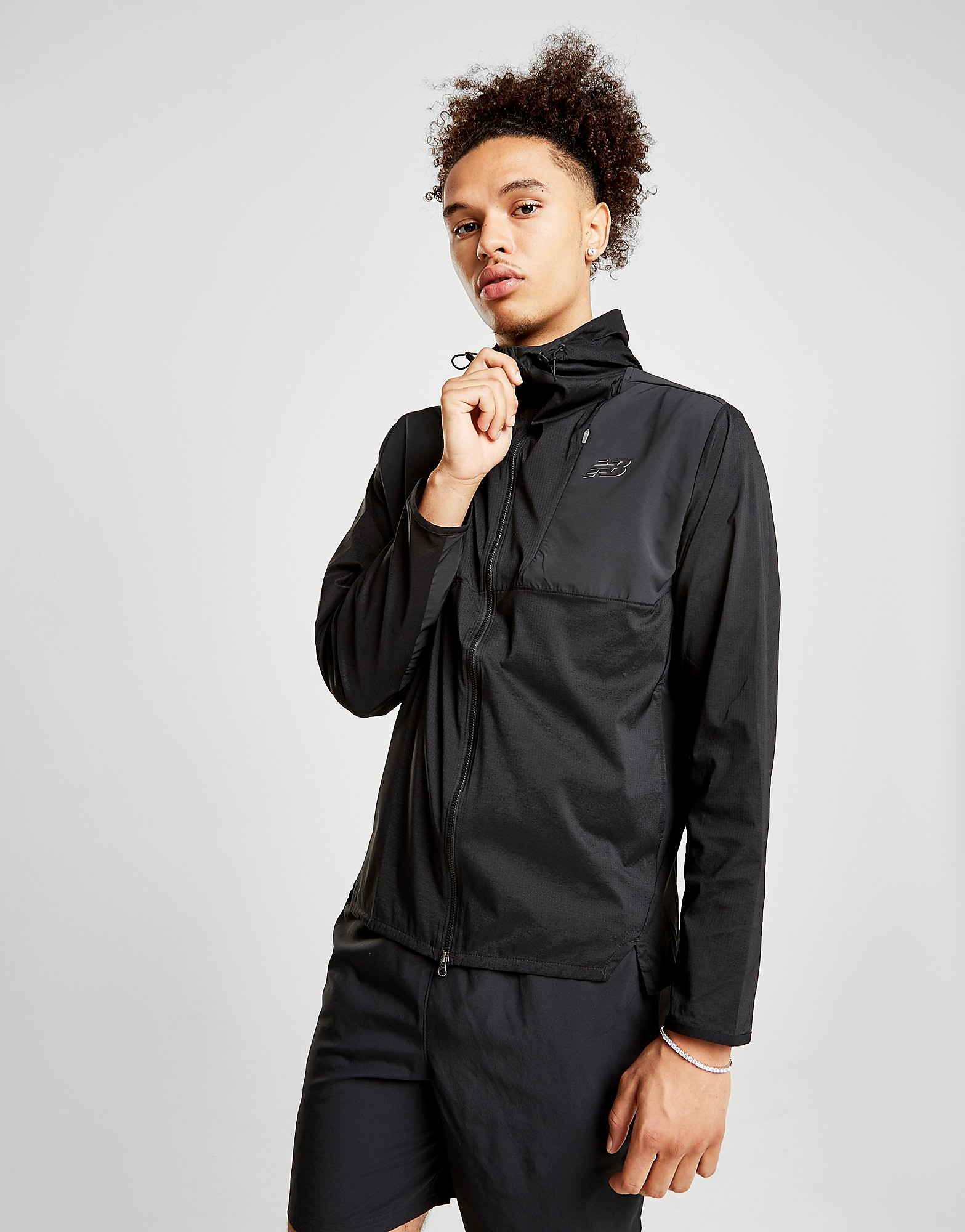 New Balance Max Intensity Jacket Heren - Zwart - Heren