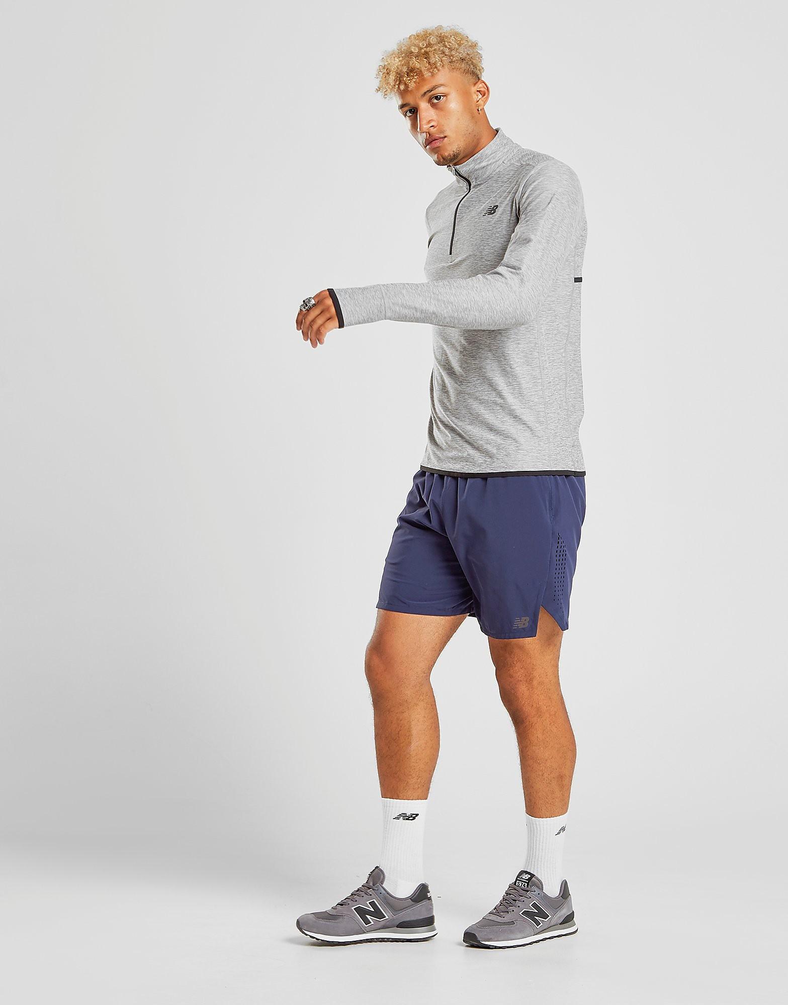 New Balance Transform 2-in-1 Shorts Heren - Blauw - Heren