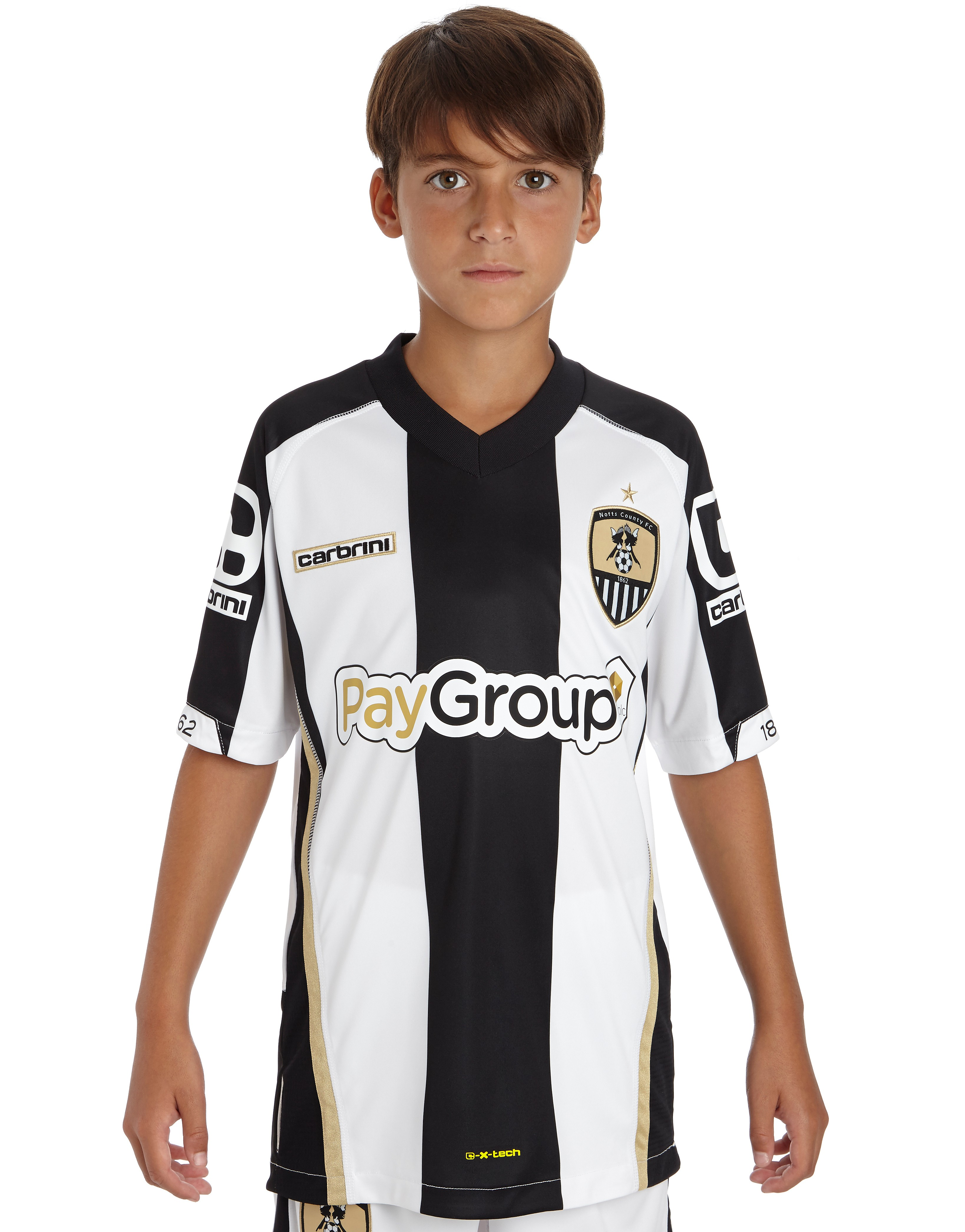 Carbrini Notts County 2014 Junior Home Shirt