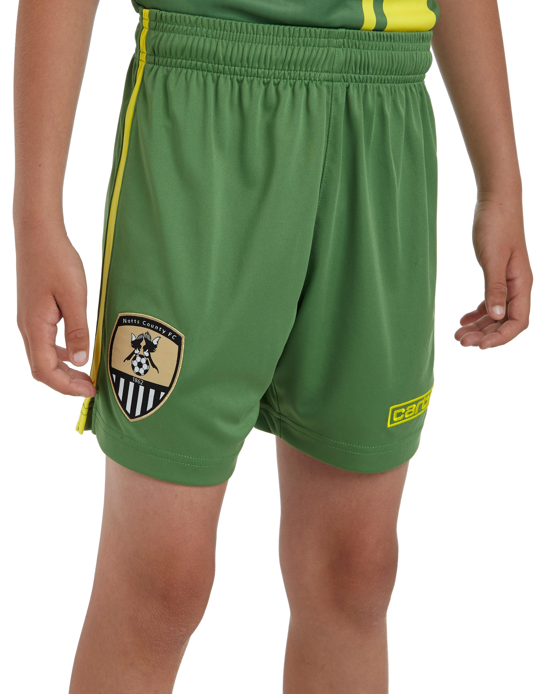Carbrini Notts County 2014 Junior Away Shorts
