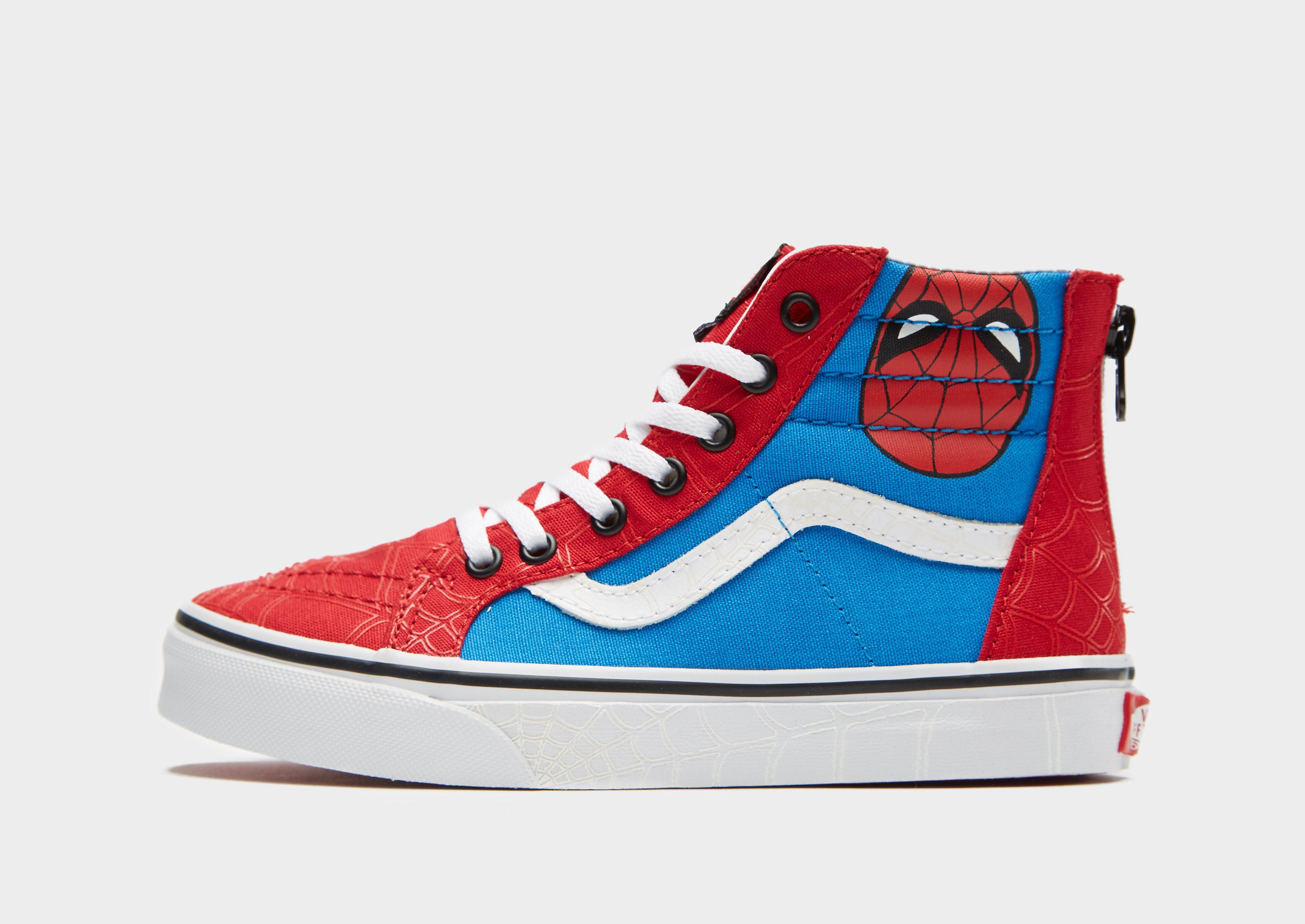 Vans x Marvel Sk8-Hi Spiderman Kinderen - Rood - Kind