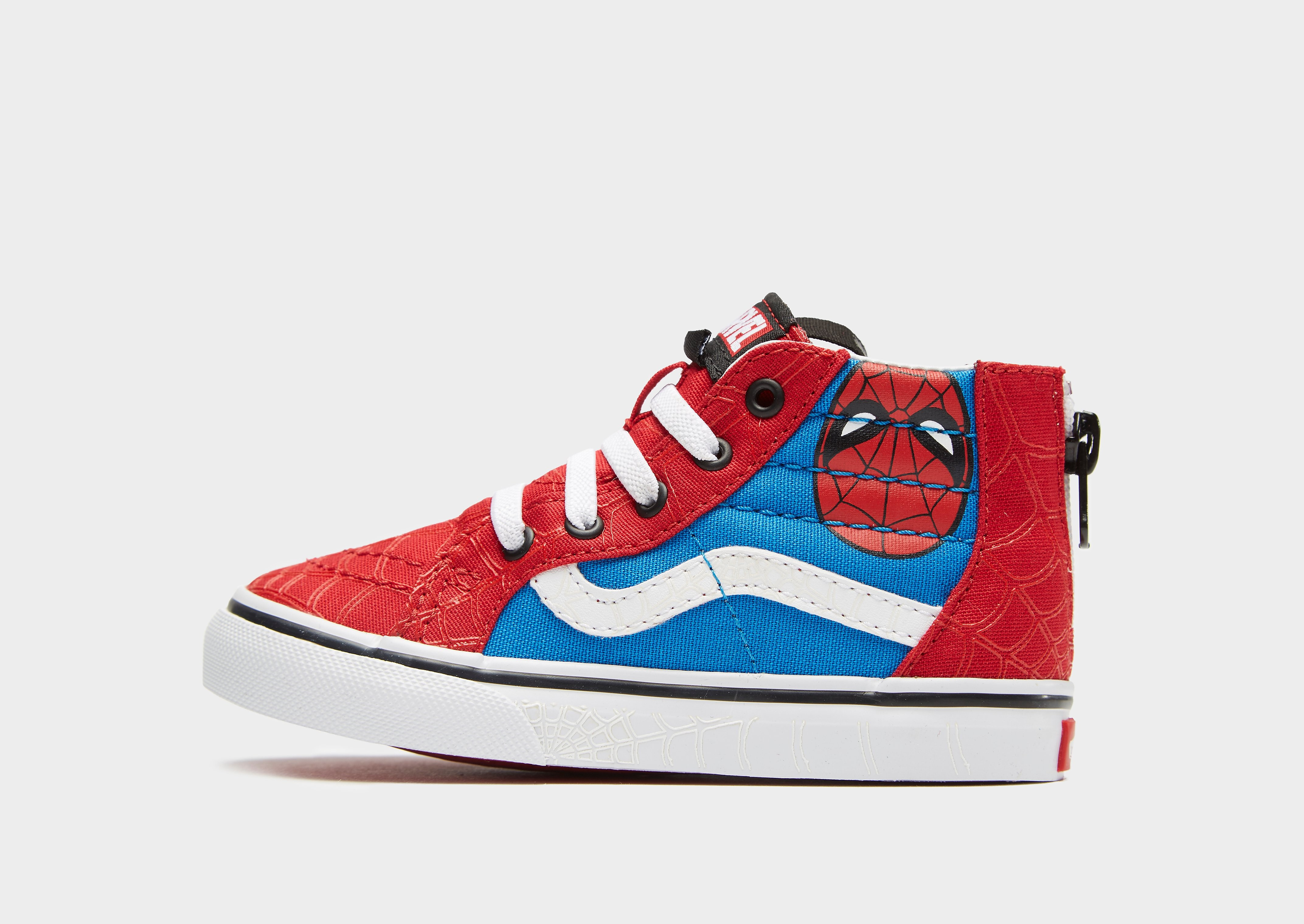 Vans x Marvel SK8-Hi Spiderman Baby's - Rood - Kind