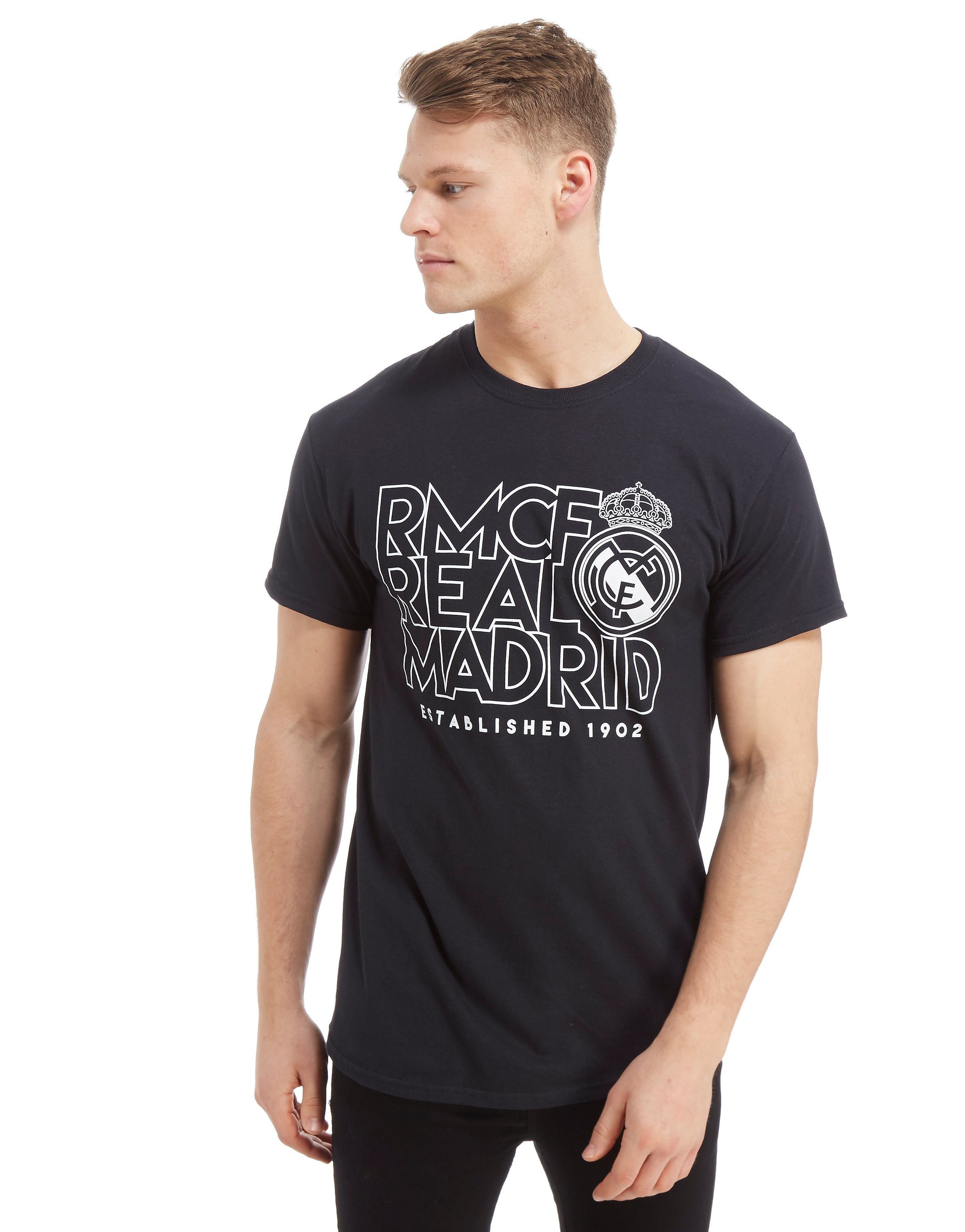 Official Team Real Madrid Stack Short Sleeve T-Shirt