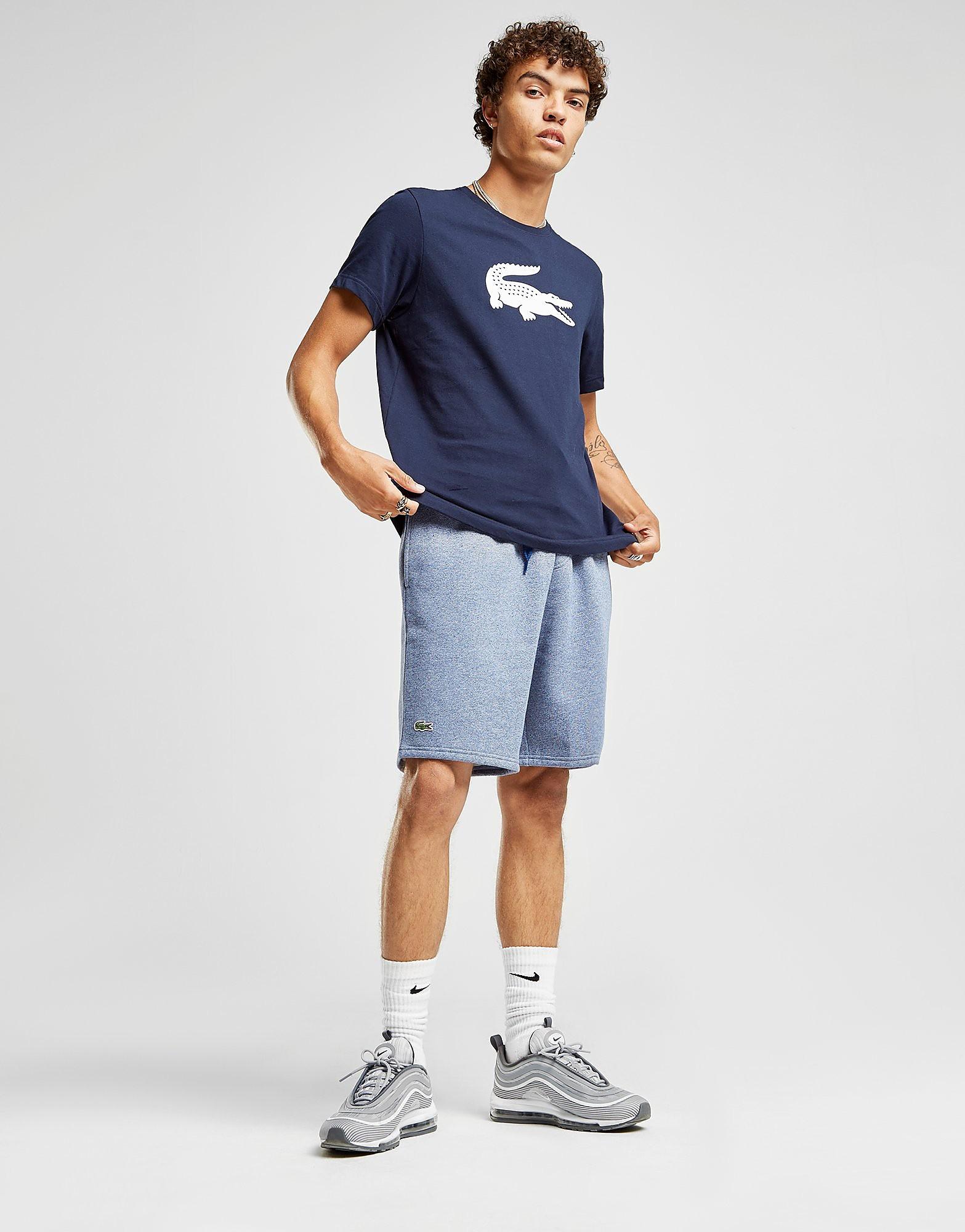 Lacoste Croc T-Shirt Heren - Blauw - Heren