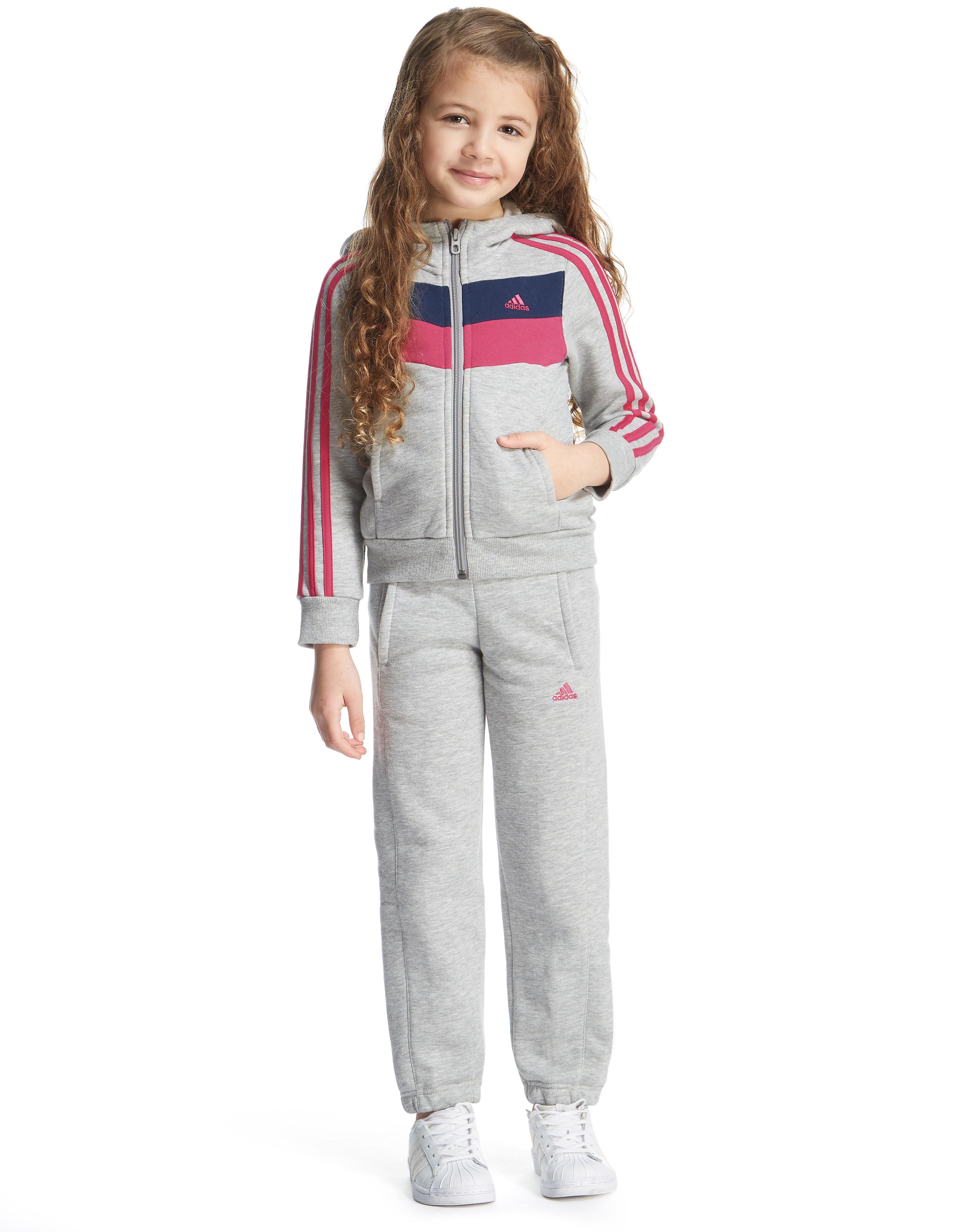 adidas Girls' Zeno Suit Children