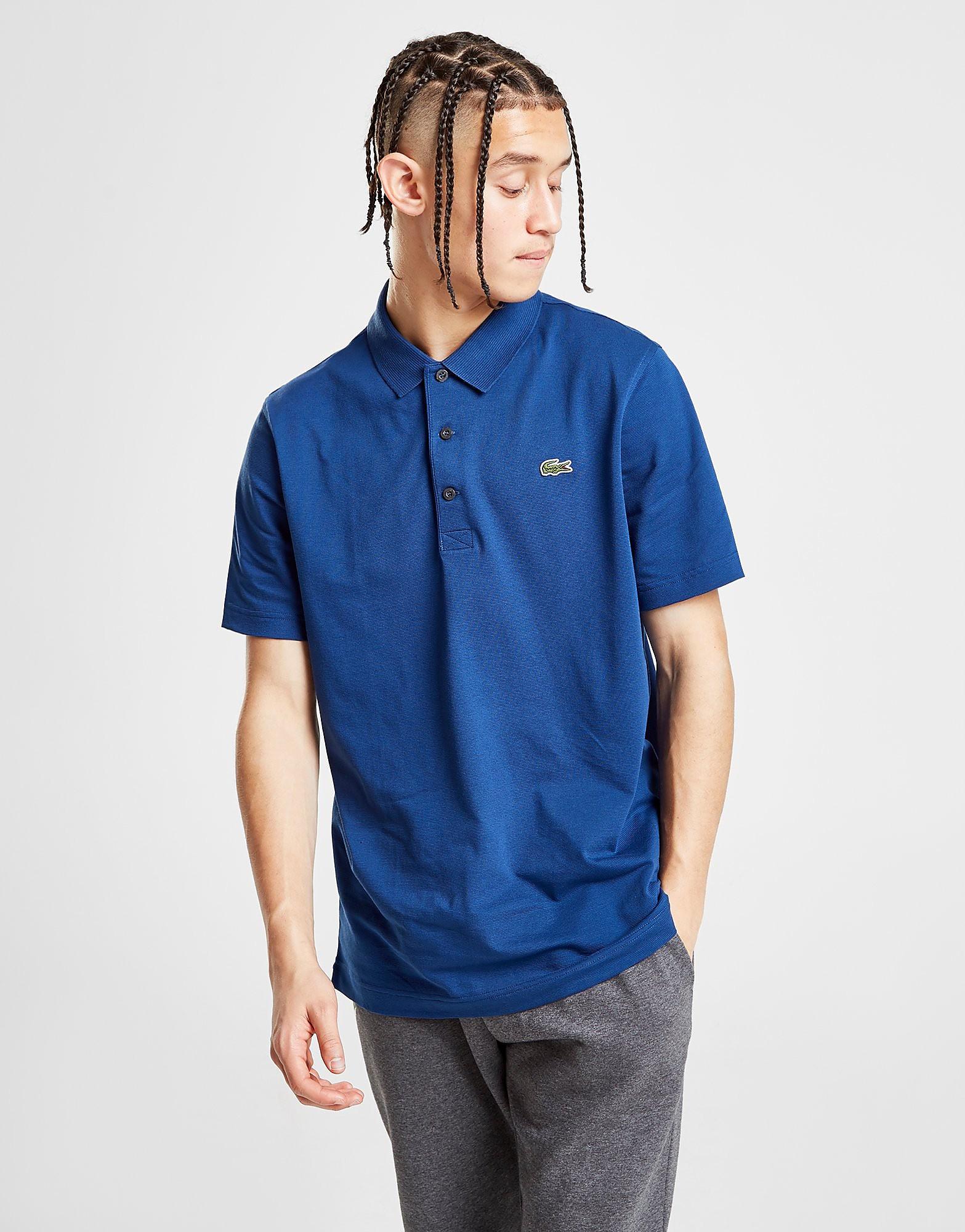 Lacoste Alligator Short Sleeve Polo Shirt Heren - Blauw - Heren
