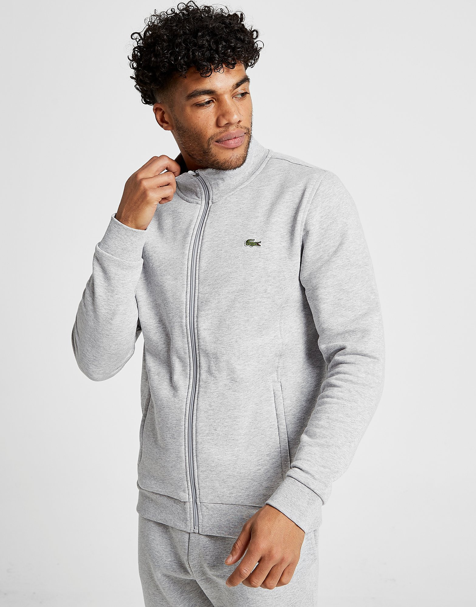 Lacoste Core Fleece Track Top - Grijs - Heren
