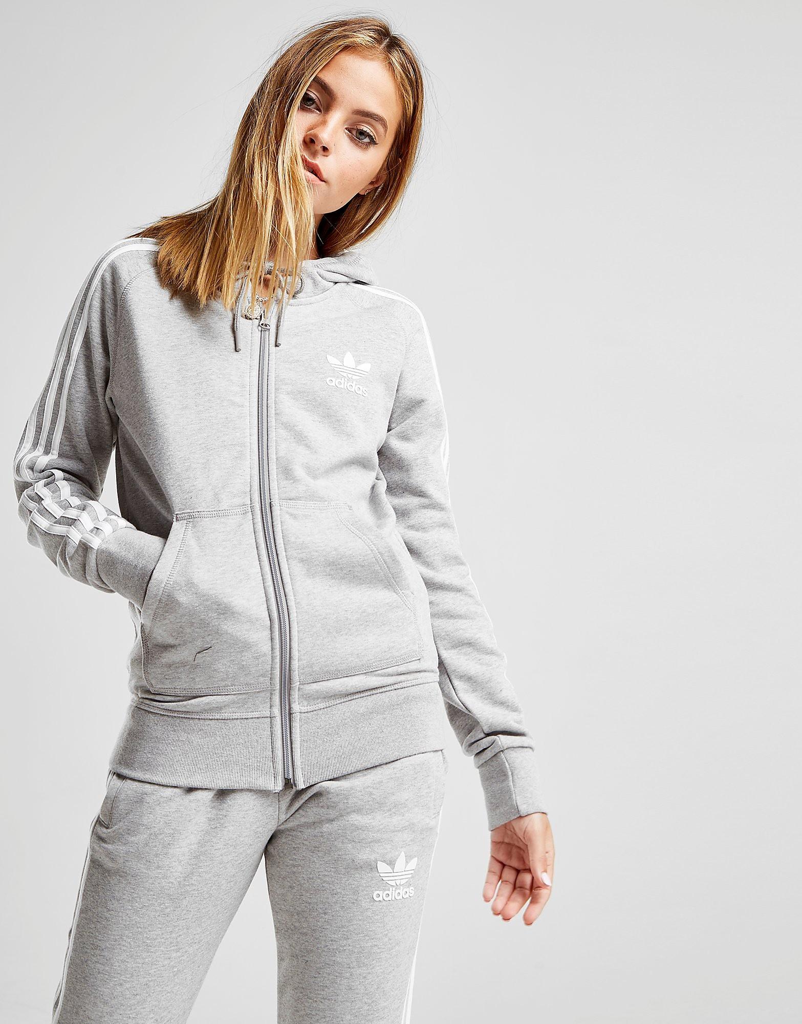 adidas Originals California Hoodie Damen - Only at JD - Grau - Womens, Grau von ADIDAS