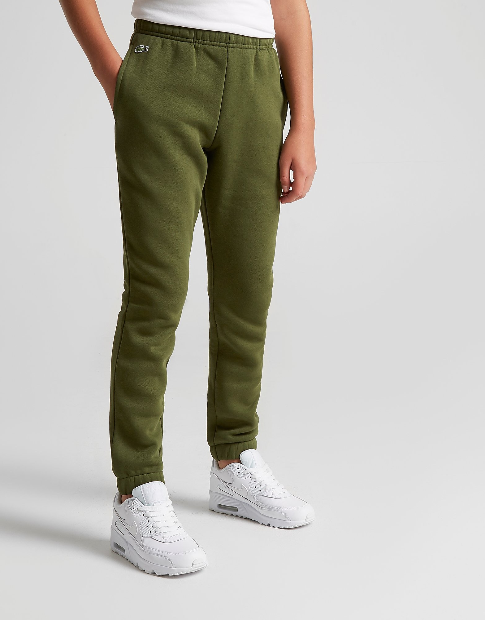 Lacoste Small Logo Track Pants Junior - Groen - Kind
