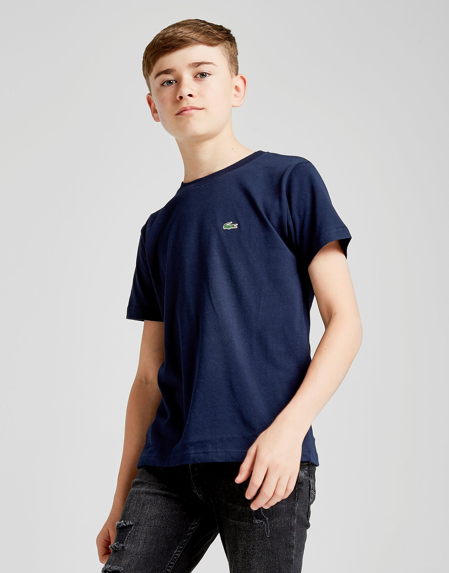 Lacoste Small Logo T-Shirt Junior - Blauw - Kind