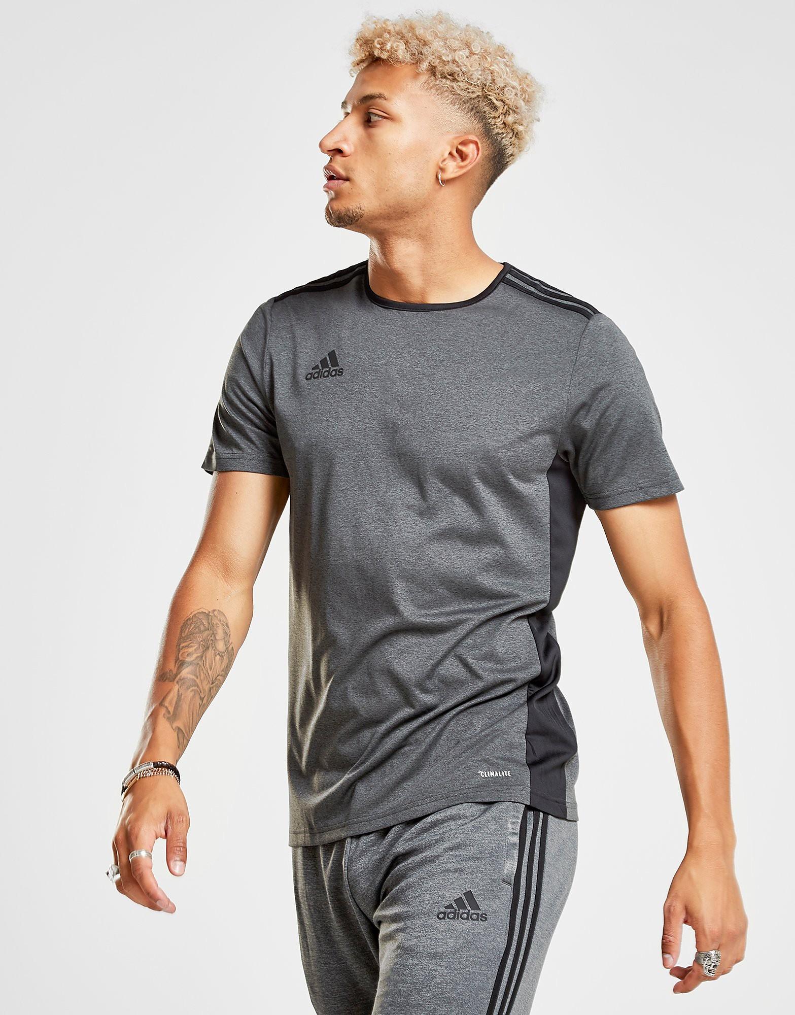 adidas Entrada 18 T-Shirt Heren - alleen bij JD - Grijs - Heren