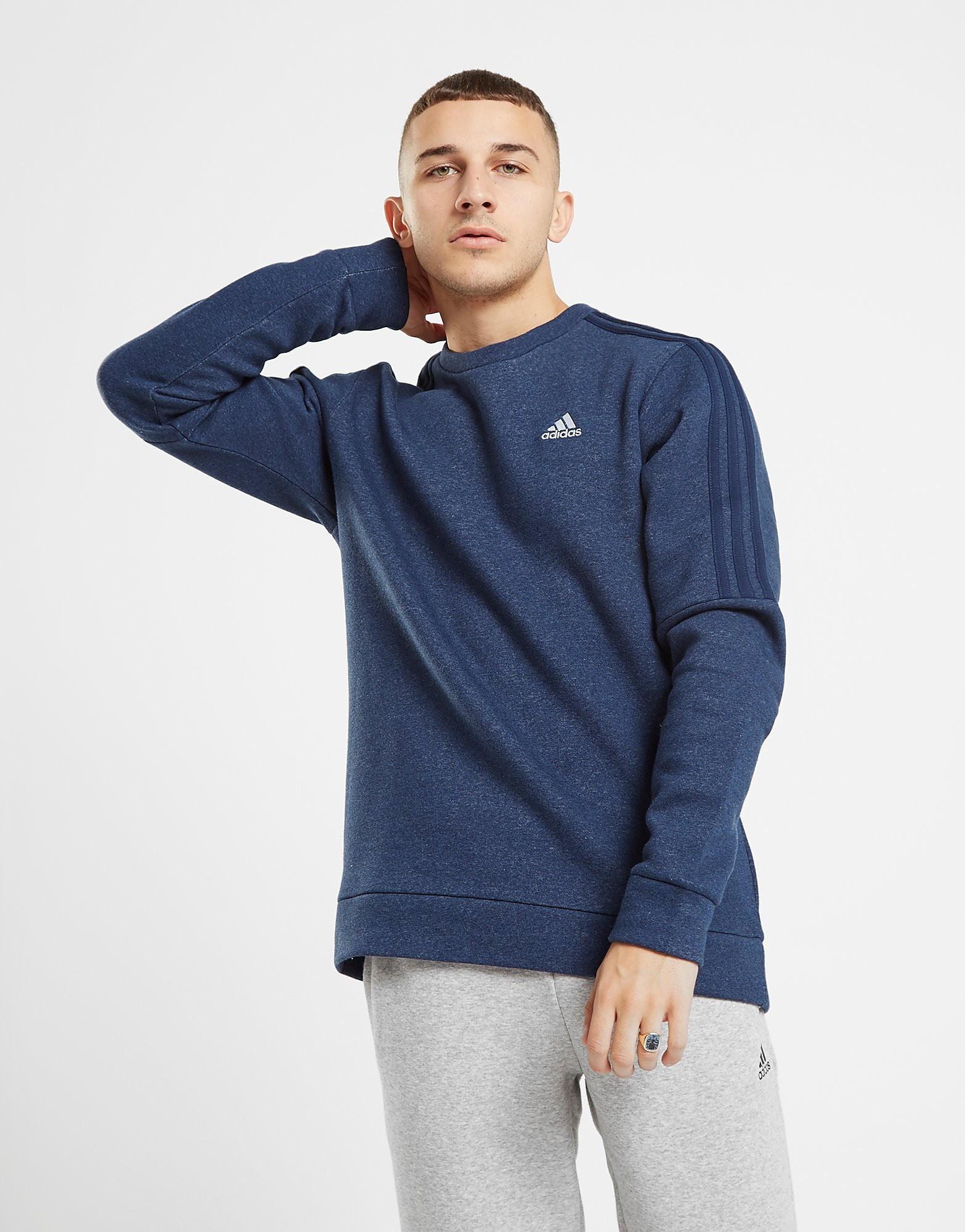 adidas Essential Crew Sweatshirt - alleen bij JD - Blauw - Heren
