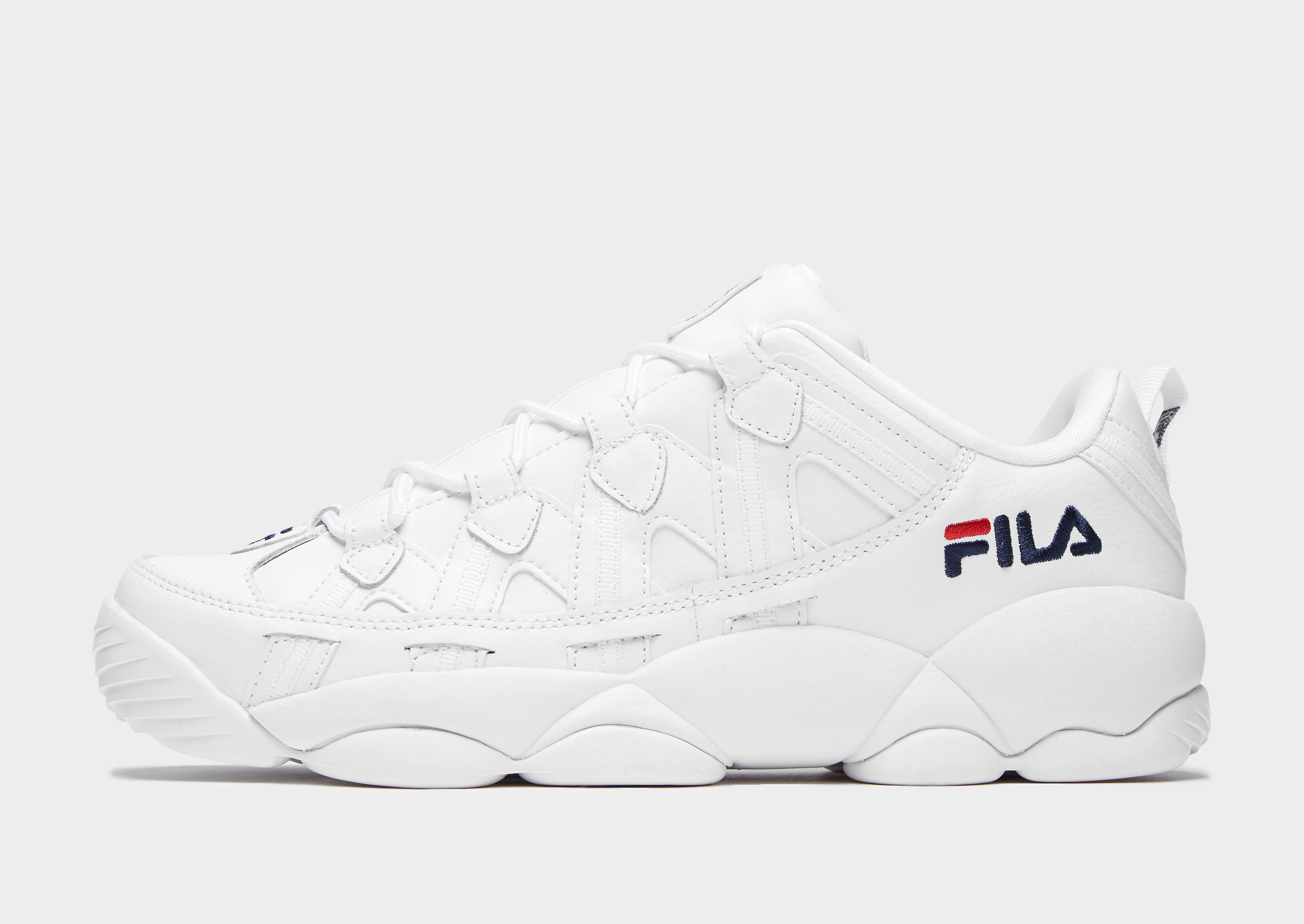 Fila Spaghetti Low - Only at JD - Weiss - Mens, Weiss