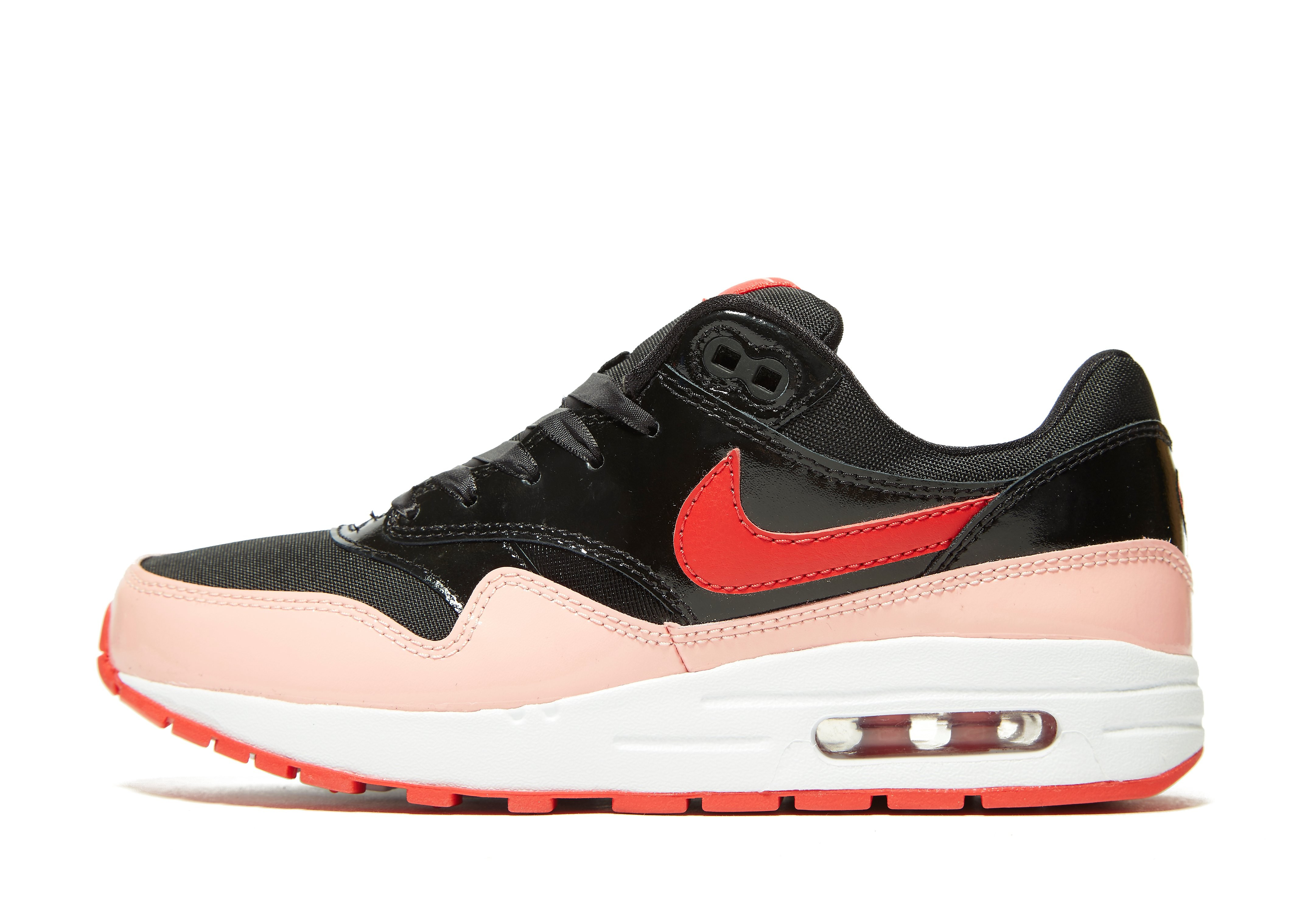 Nike Air Max 1 Ultra 20 Flyk - 875942600 - Color Negro-Blanco-Rojo - Size: 44.5 RRG2aEy