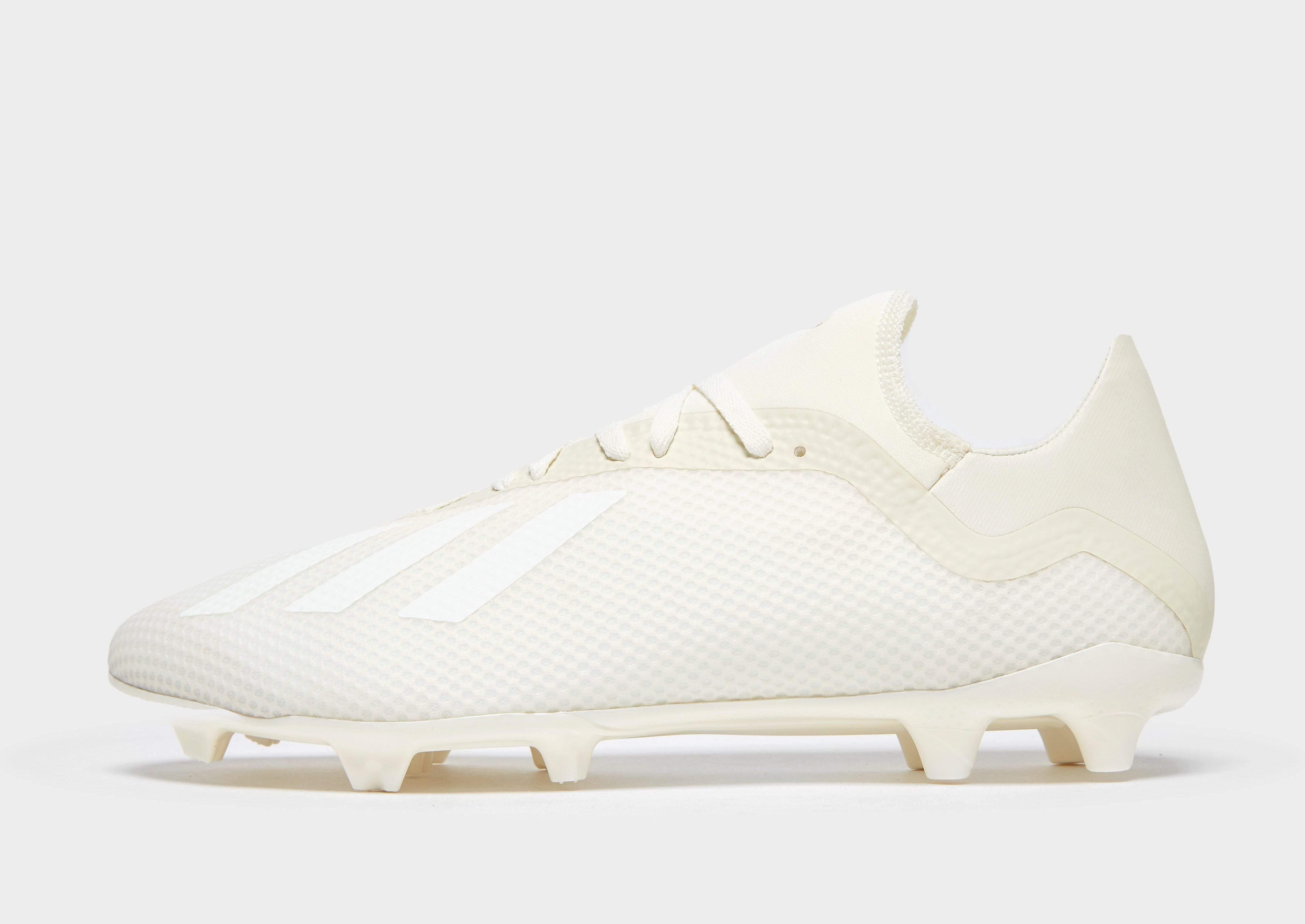 adidas Spectral Mode X 18.3 FG Heren - Off-White/White - Heren