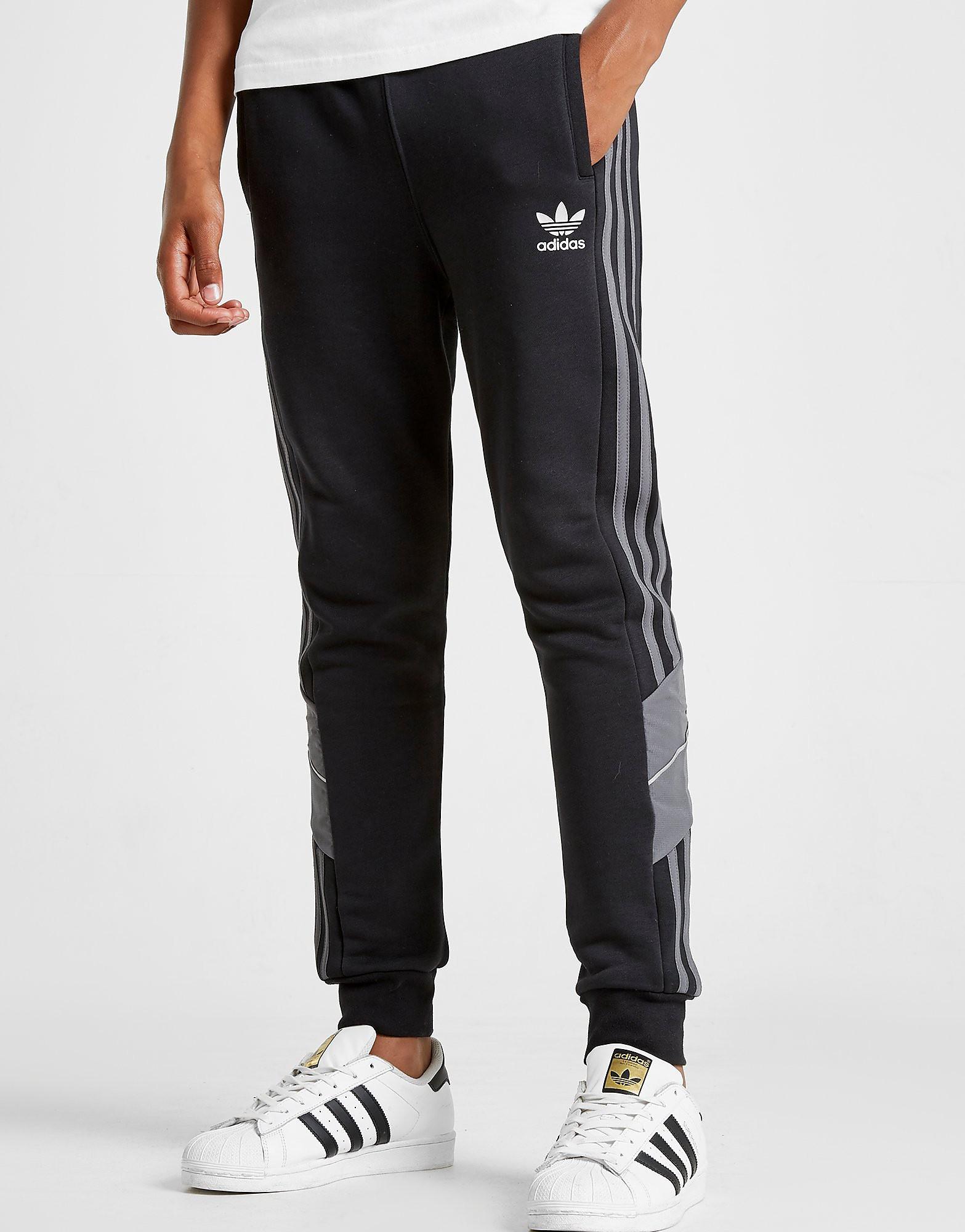 adidas Originals Speed Fleece Track Pants Junior - Zwart - Kind