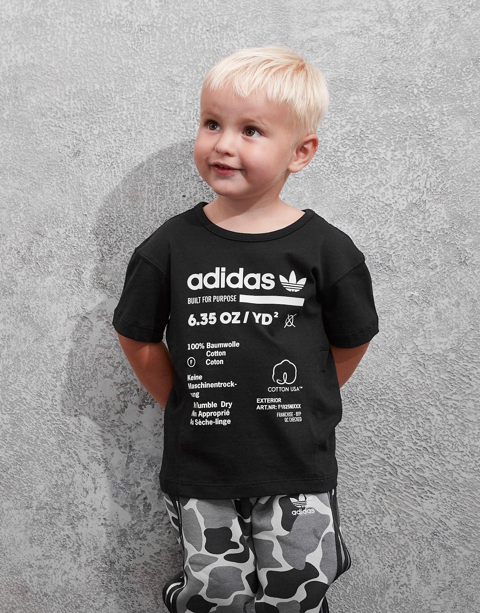 adidas Originals Kaval T-Shirt Baby's - Zwart - Kind