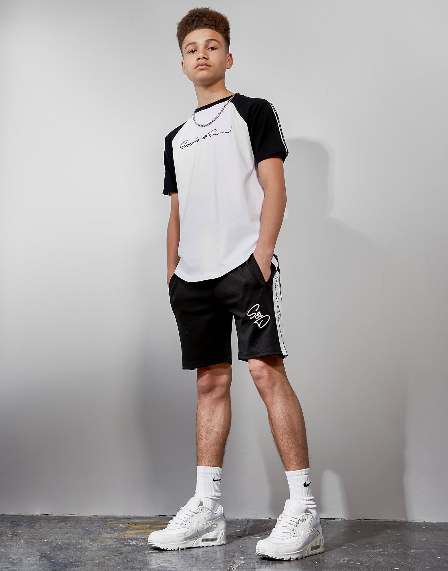 Supply & Demand Tape Raglan T-Shirt Junior