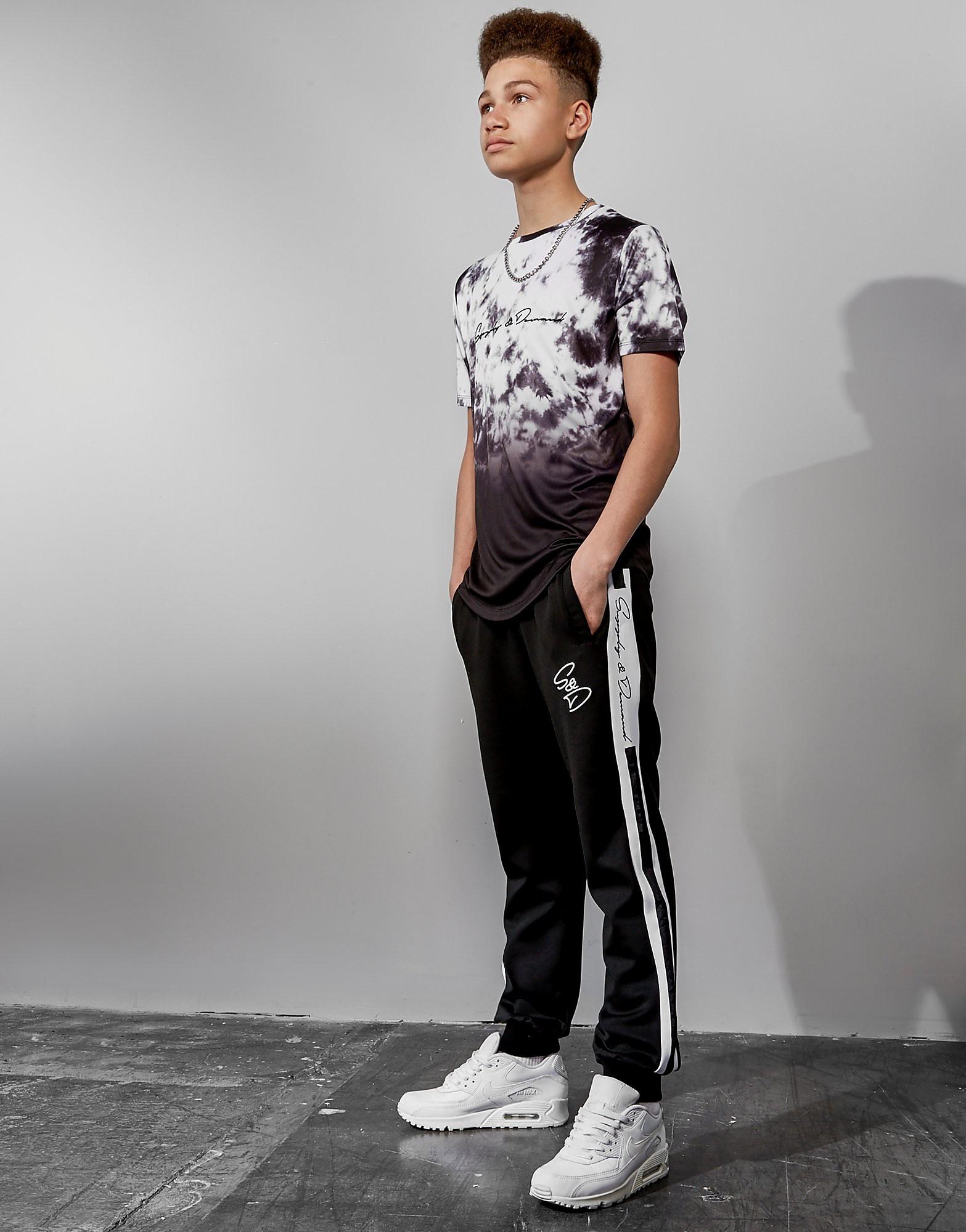 Supply & Demand All Over Fade T-Shirt Junior