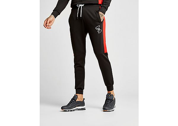 Supply & Demand Script Joggers - Only at JD, Black