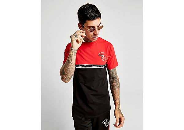 Supply & Demand Script Tape T-Shirt - Only at JD, Black