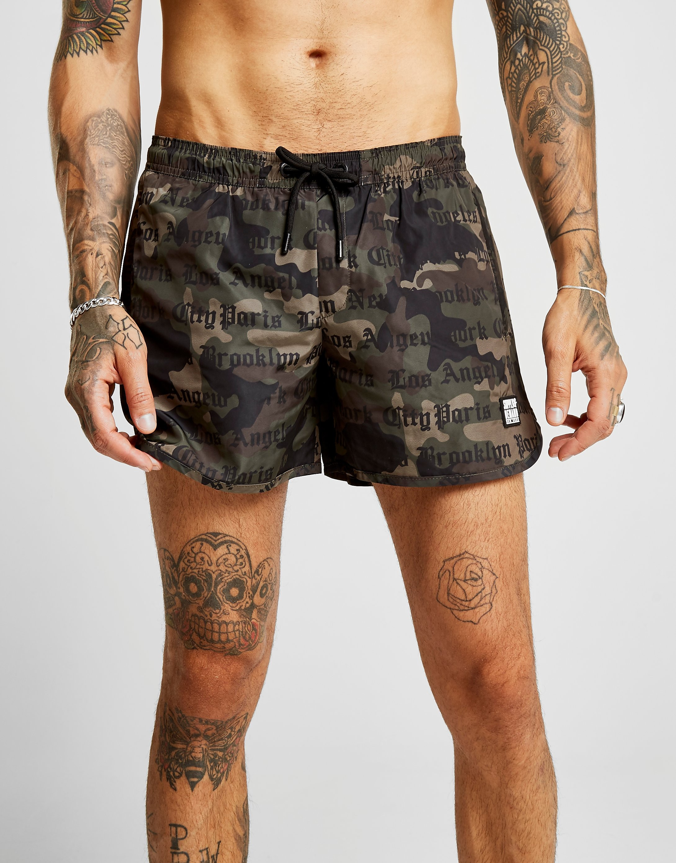 Supply & Demand Attention Swim Shorts - Only at JD, Green