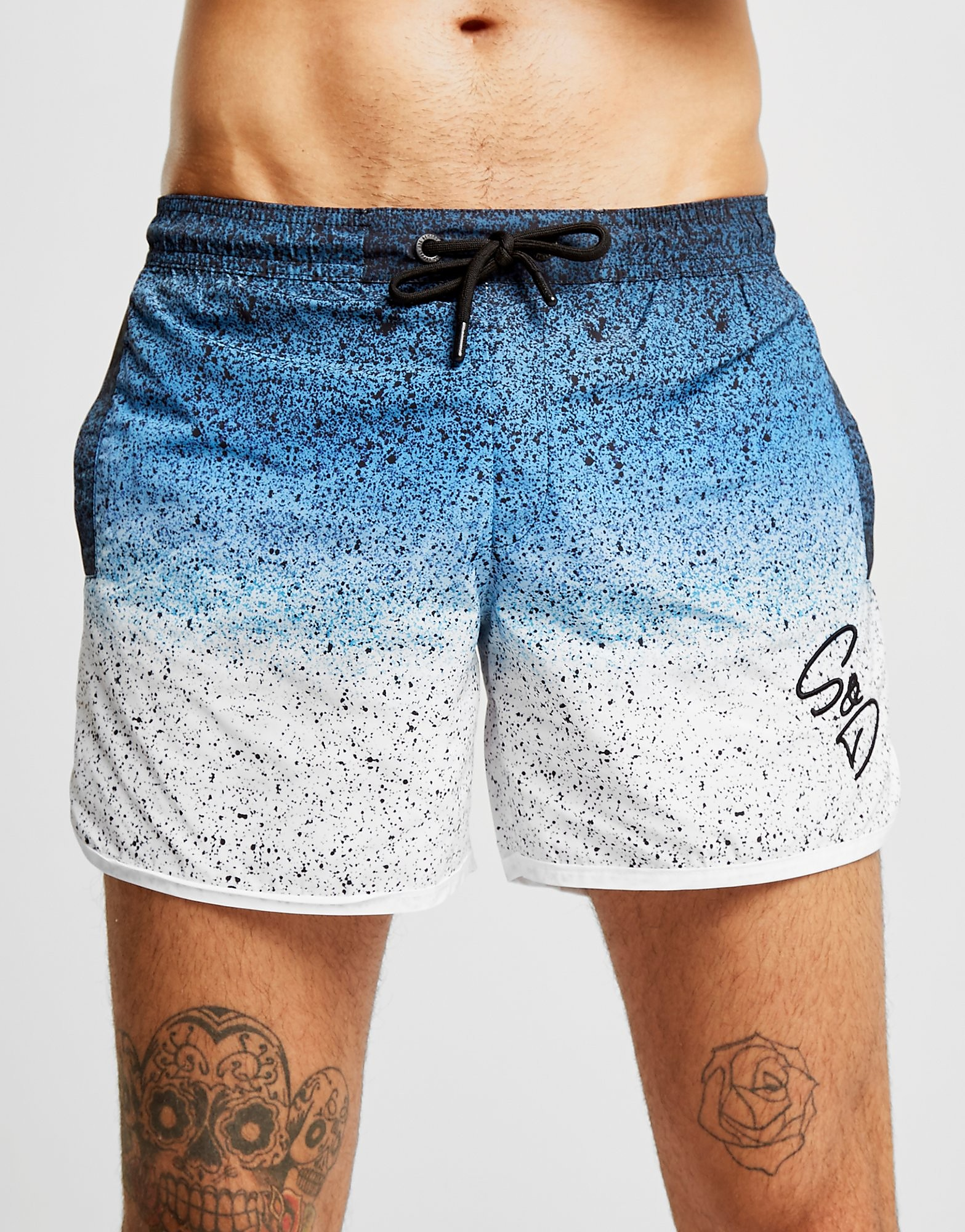 Supply & Demand Despeckled Swim Shorts Heren