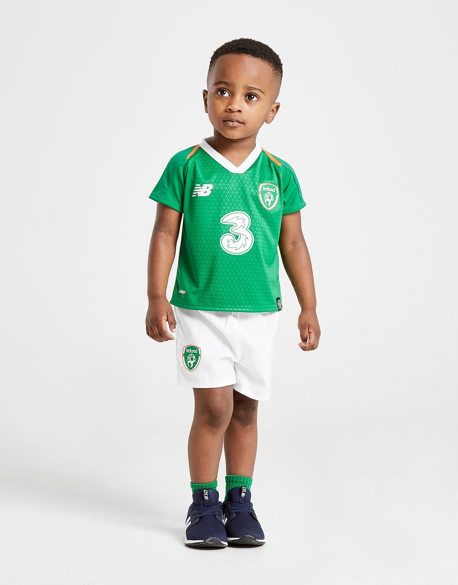 New Balance Republic of Ireland 2018/19 Home Kit Baby's - Groen - Kind