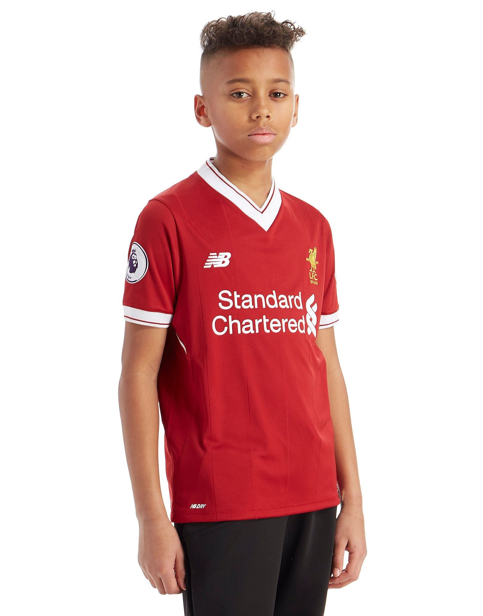New Balance Liverpool FC 2017 Salah #11 Home Shirt Junior