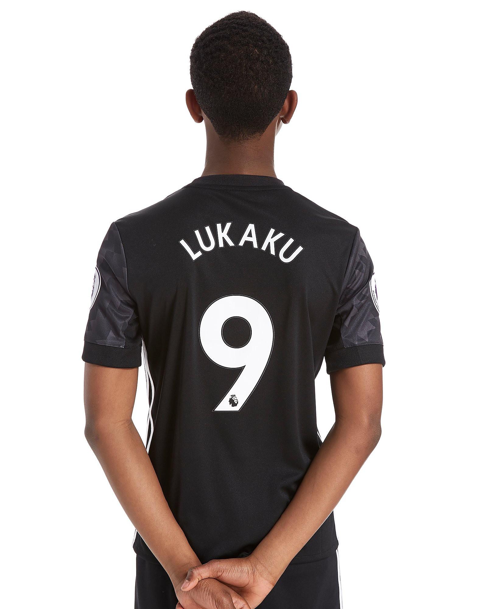 adidas Manchester United 2017 Lukaku #9 Away Shirt Junior